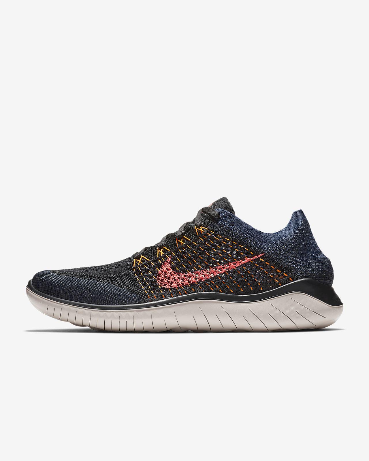 76c77684a3b95 Nike Free RN Flyknit 2018 Men s Running Shoe. Nike.com