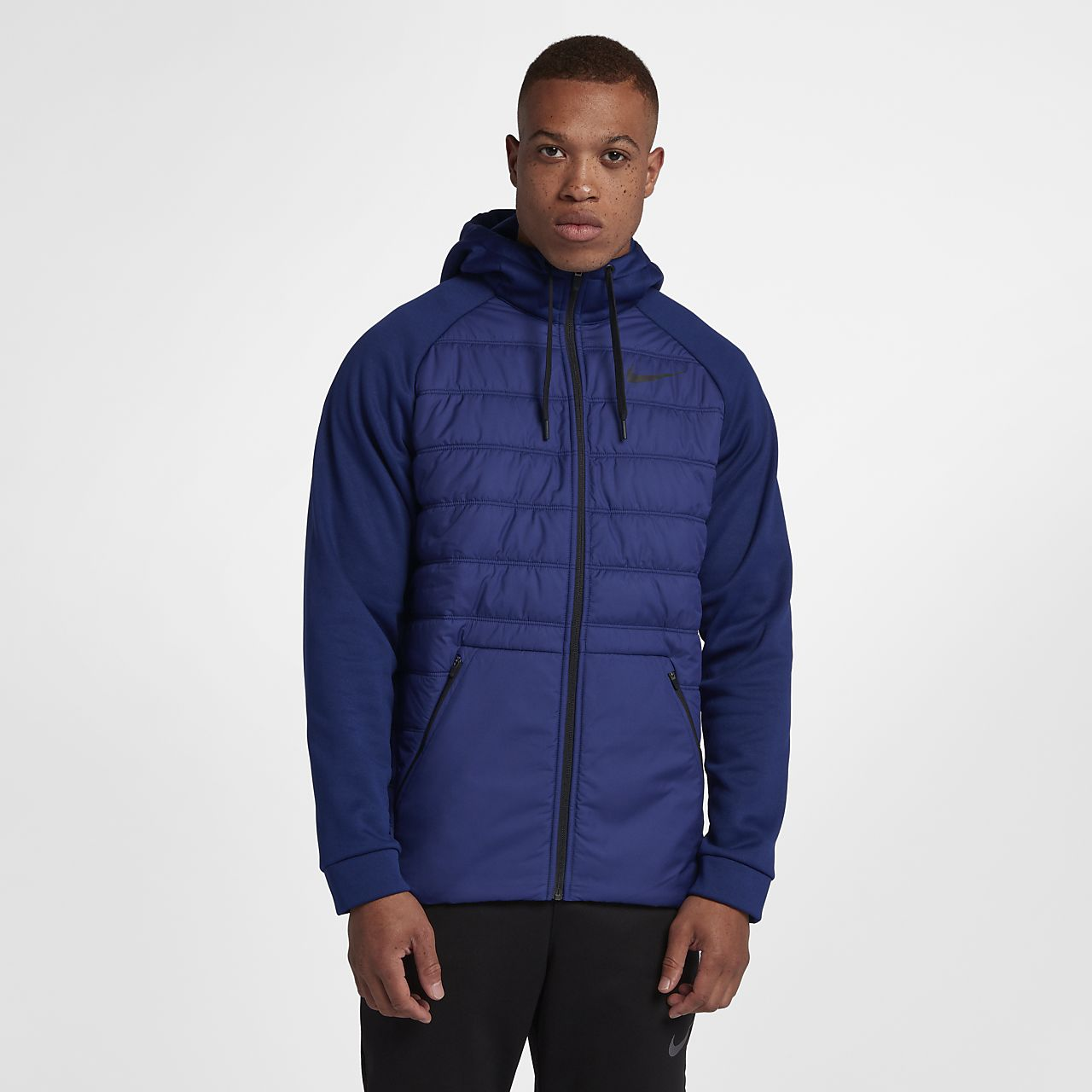 e918735c9fe7 Nike Therma Winterized Men s Full-Zip Hoodie. Nike.com