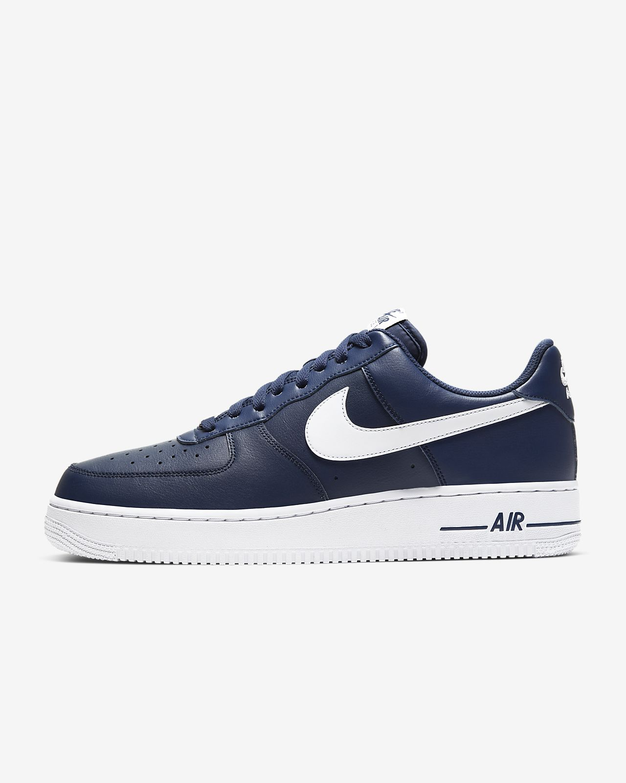 nike air force 1 07 bleu marine