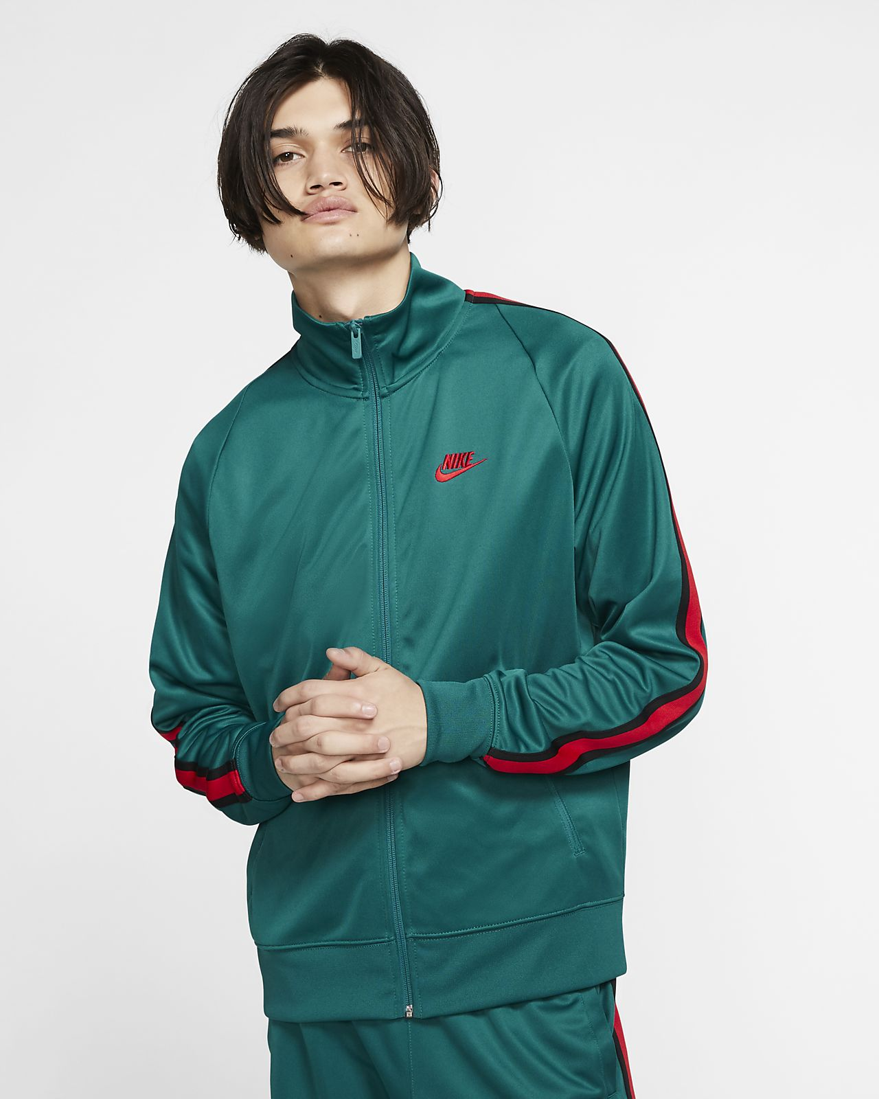 ada5db143 Nike Sportswear N98 Men's Knit Warm-Up Jacket. Nike.com