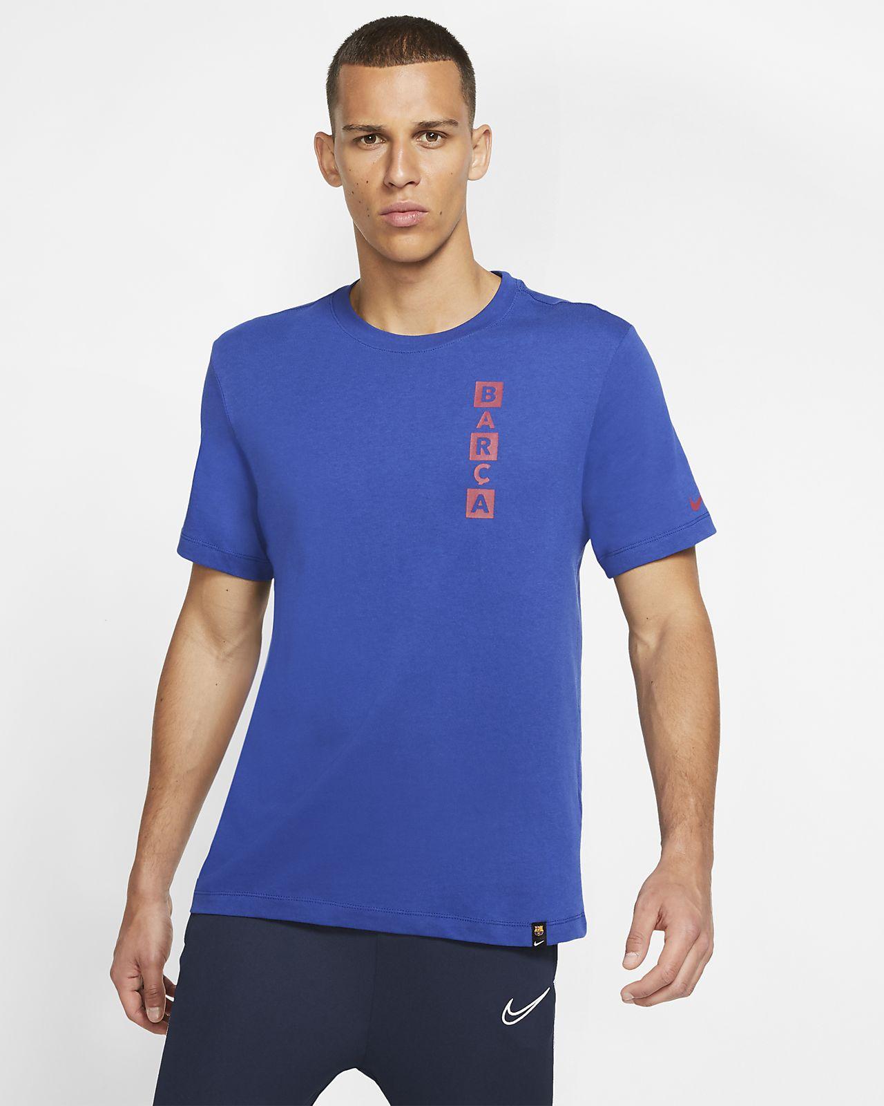 Męski T-shirt piłkarski FC Barcelona