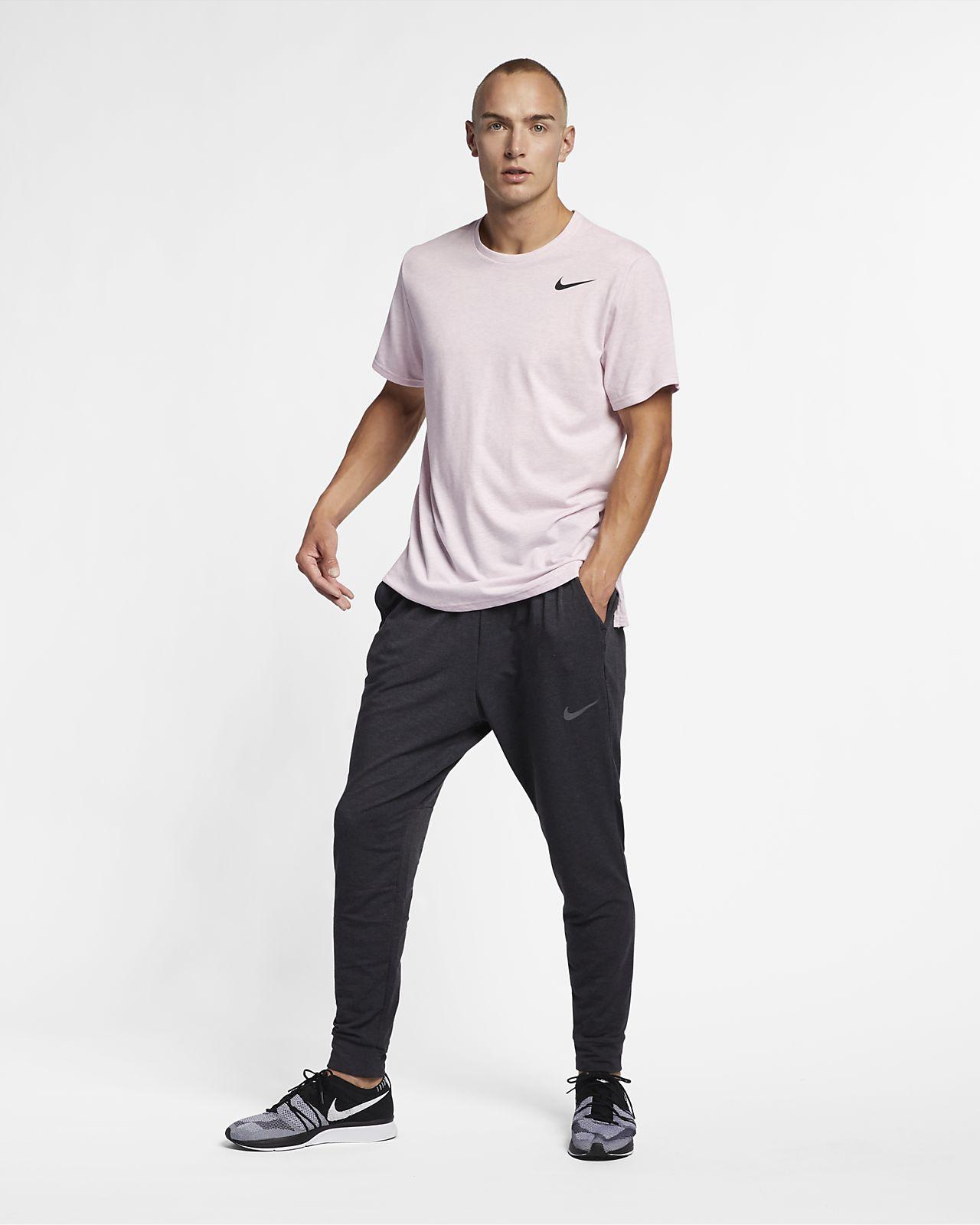 Kortærmet Nike Breathe-træningsoverdel til mænd