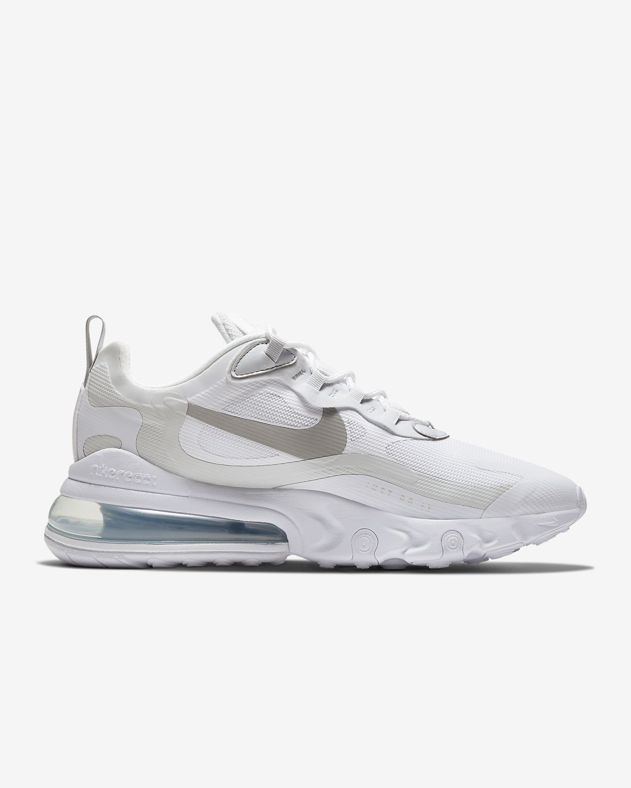 NIKE AIR MAX 270 REACET SNEAKERS WHITE SHOES