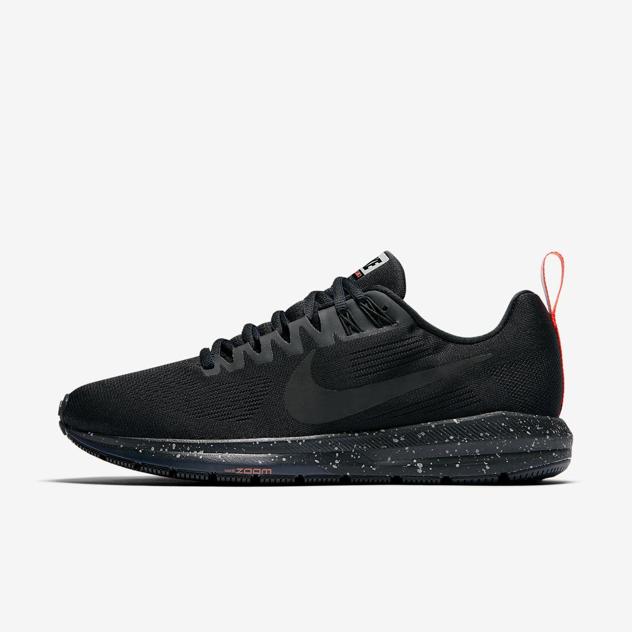 Nike AIR ZOOM STRUCTURE 21 SHIELD Noir IOawsqefvt