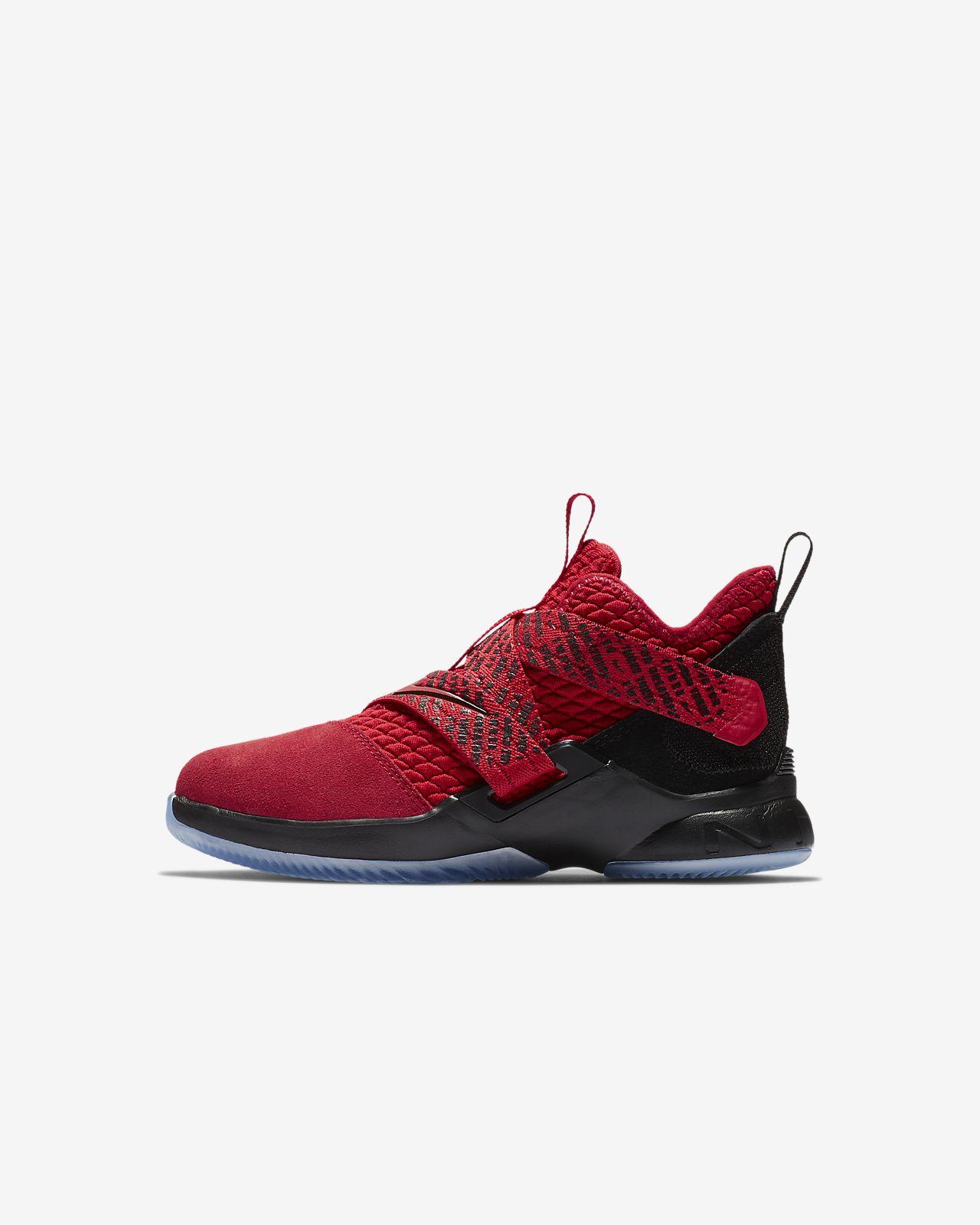 online store 94336 297fb ... LeBron Soldier 12 Little Kids  Shoe
