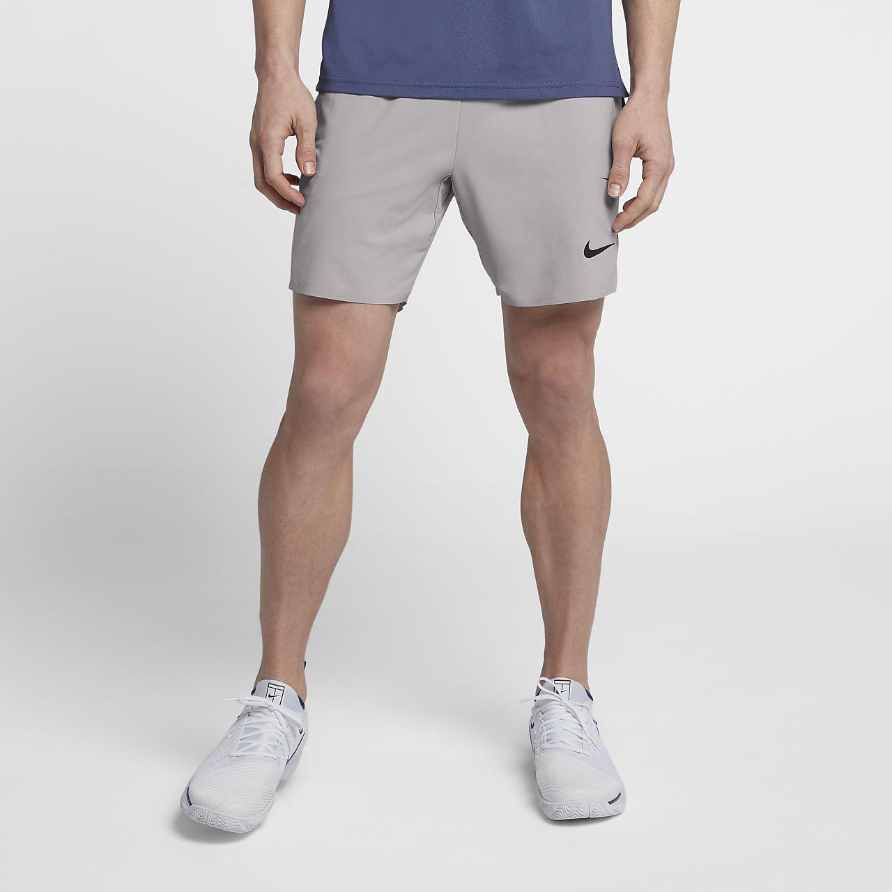 eba7ec8d64 Nike Court Flex Ace Pro Short pour Homme L Atmosphere Grey Black Muma cour  Chaussure