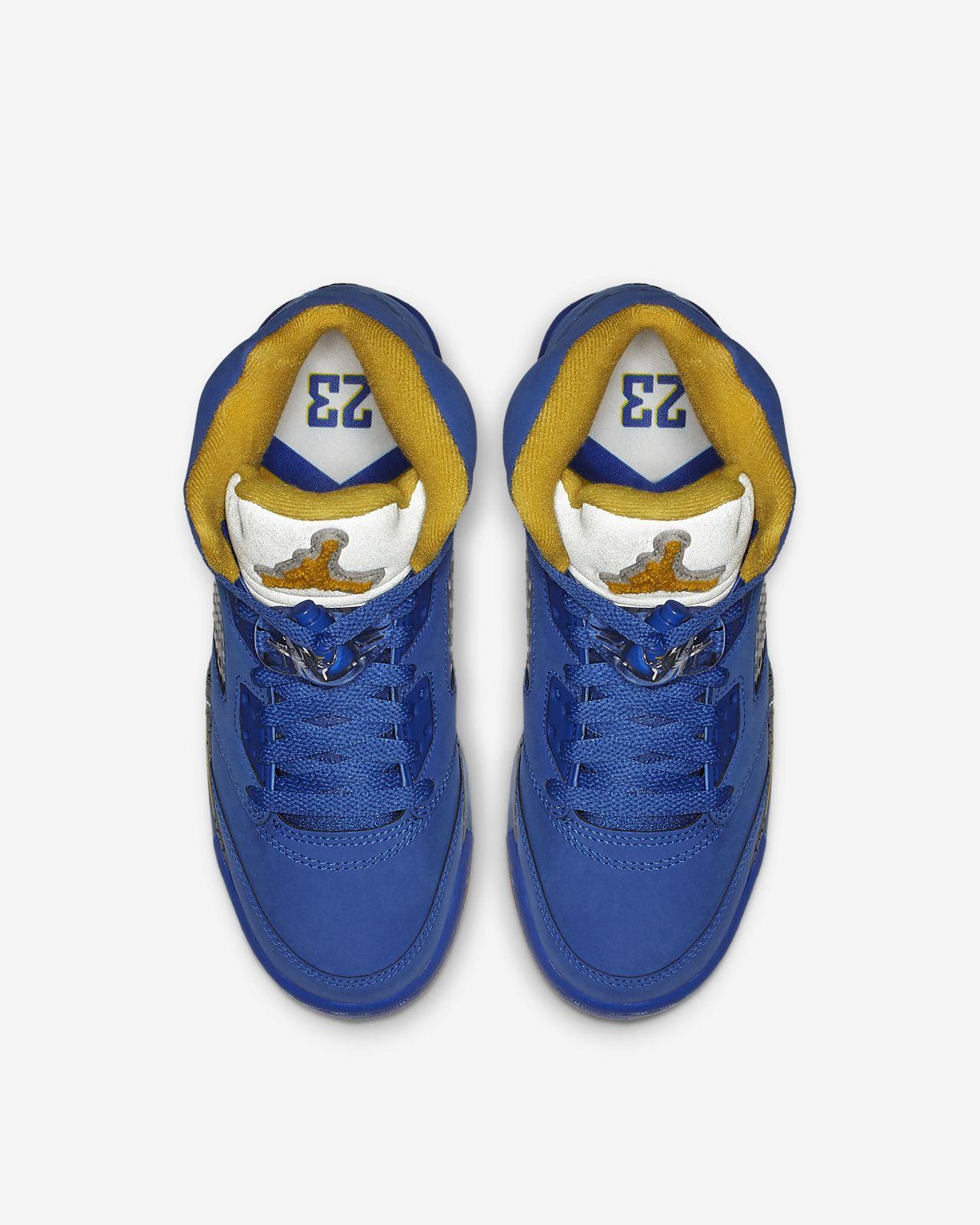 be01e454316f Air Jordan 5 Laney JSP Big Kids Shoe. Nike.com
