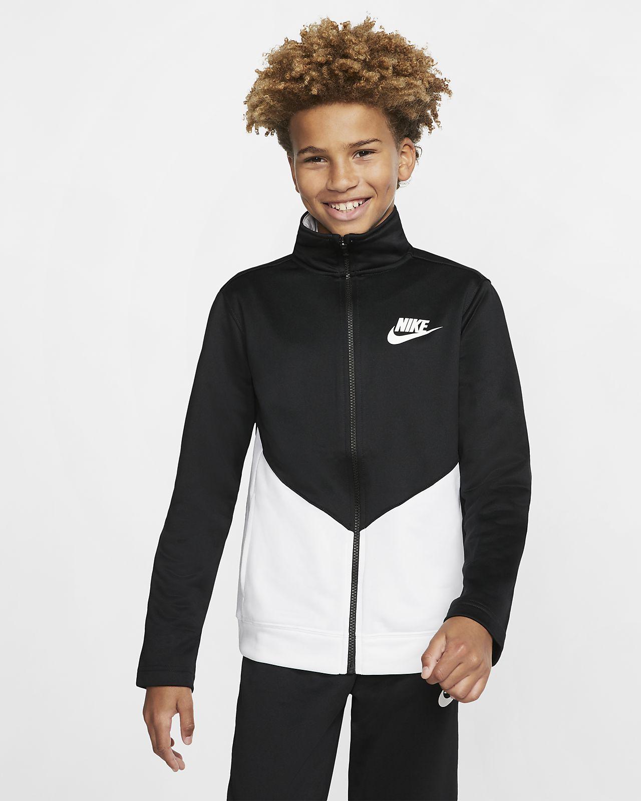 großer Rabattverkauf achten Sie auf suche nach original Nike Sportswear Trainingsanzug für ältere Kinder