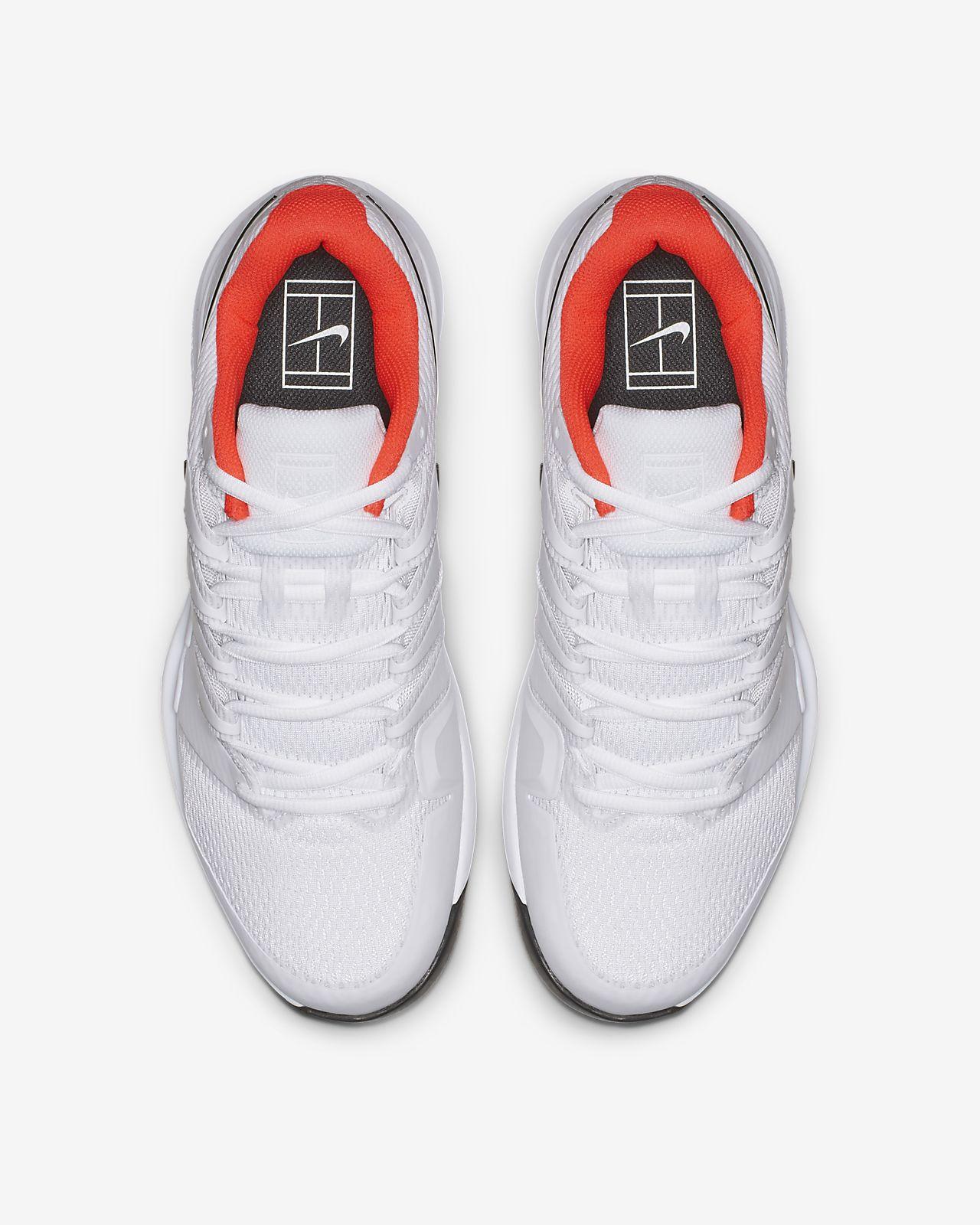 Nike Rojo Blanco Buena Calidad Zoom Vapor Tour Clay