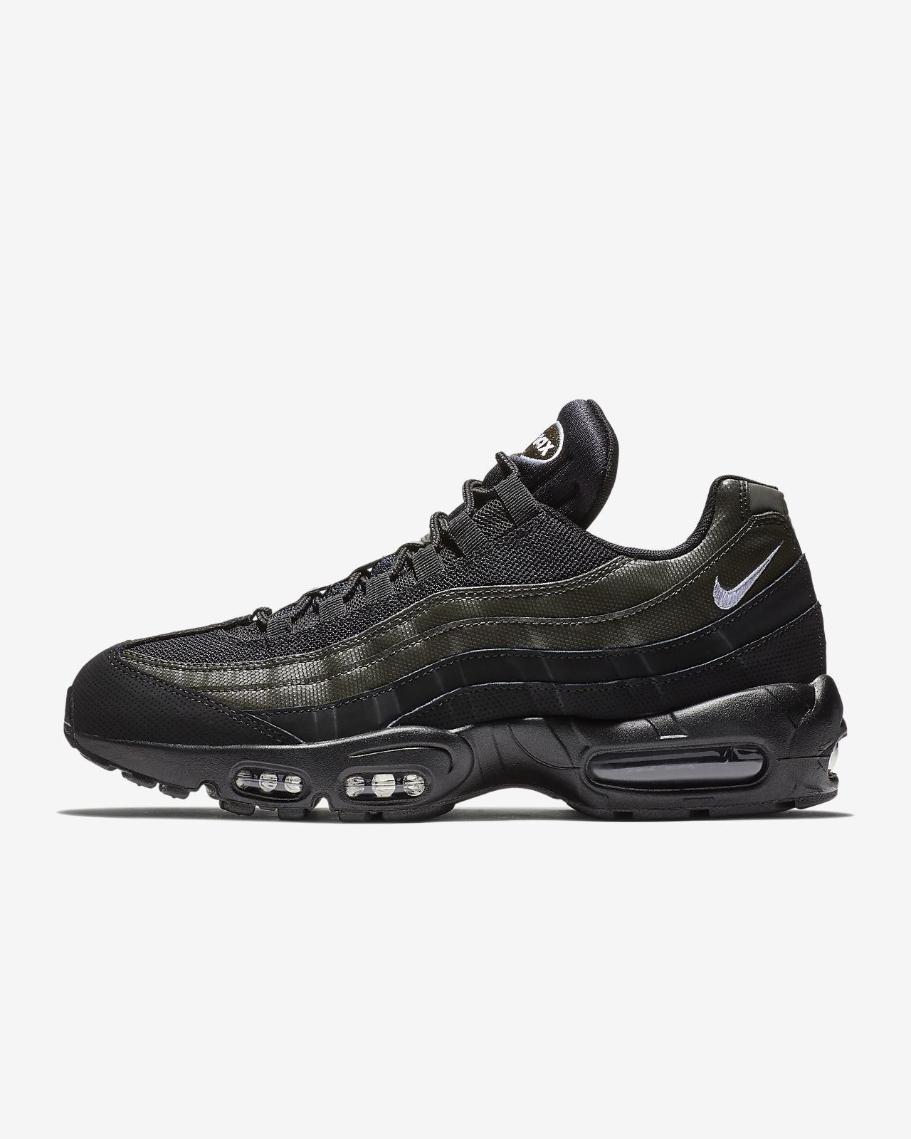 nike air max 95 black and red mens nz