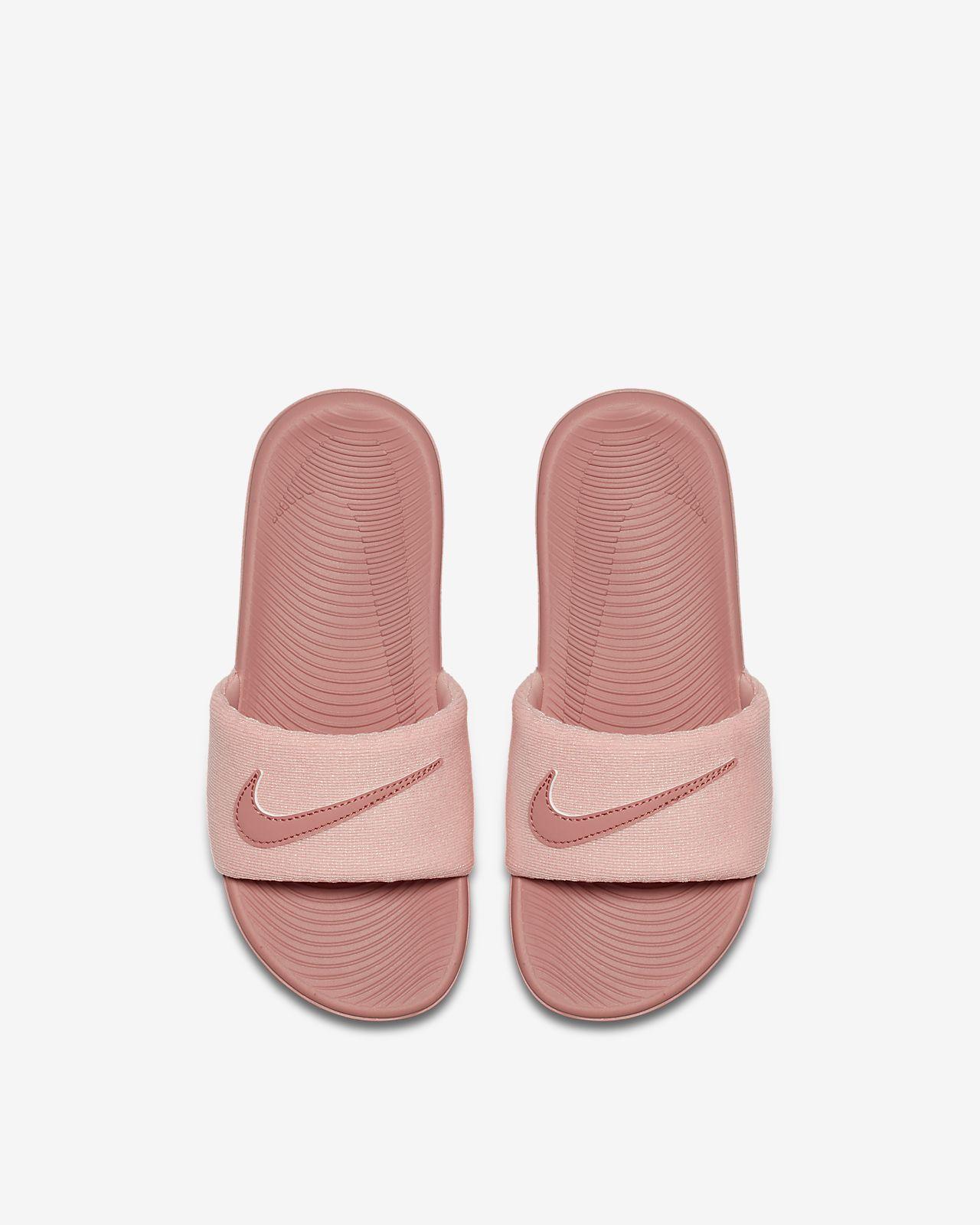 Nike Kawa SE 小/大童拖鞋