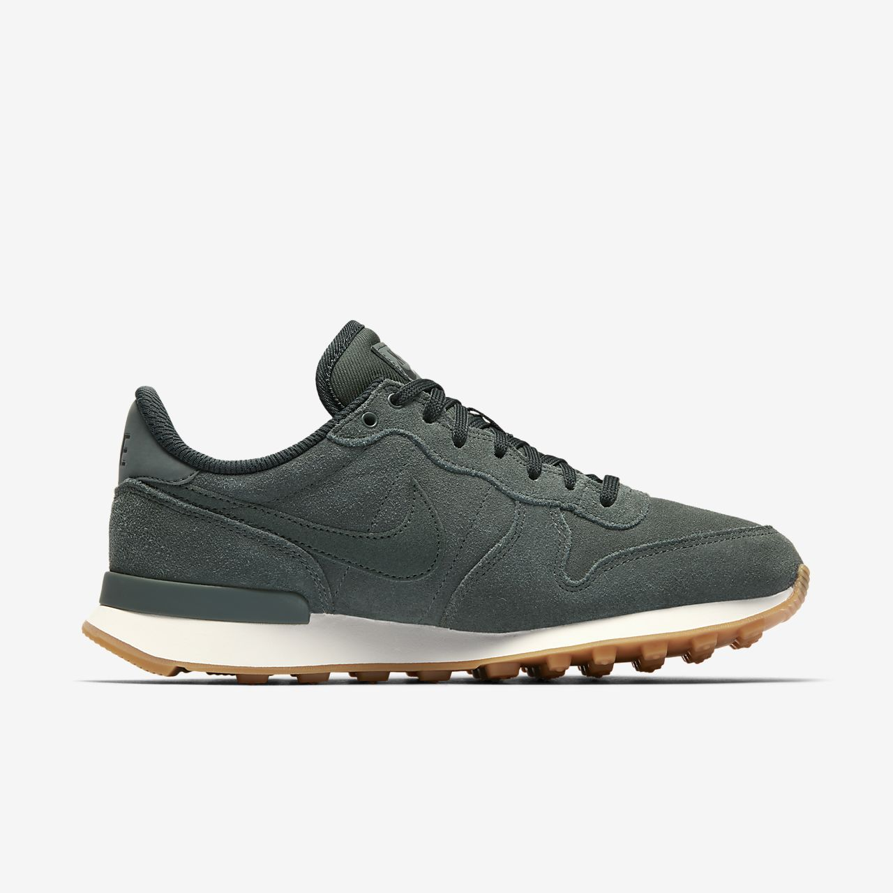 nike internationalist femme vert vintage