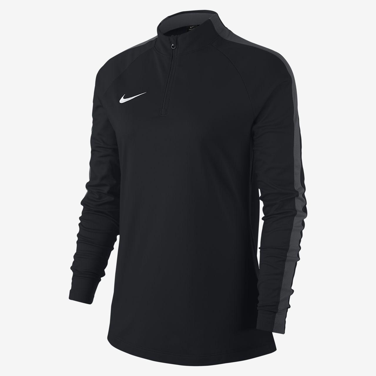Camisola de futebol de manga comprida Nike Dri-FIT Academy Drill para mulher