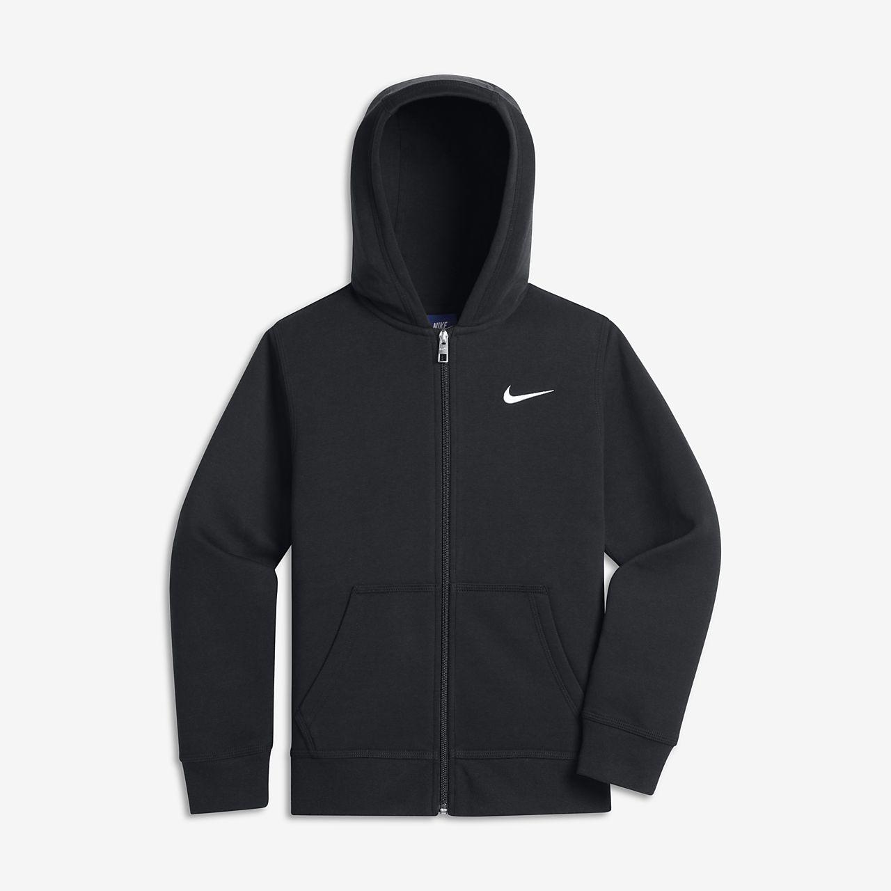 Sudadera con capucha de cierre completo para niños Nike Sportswear