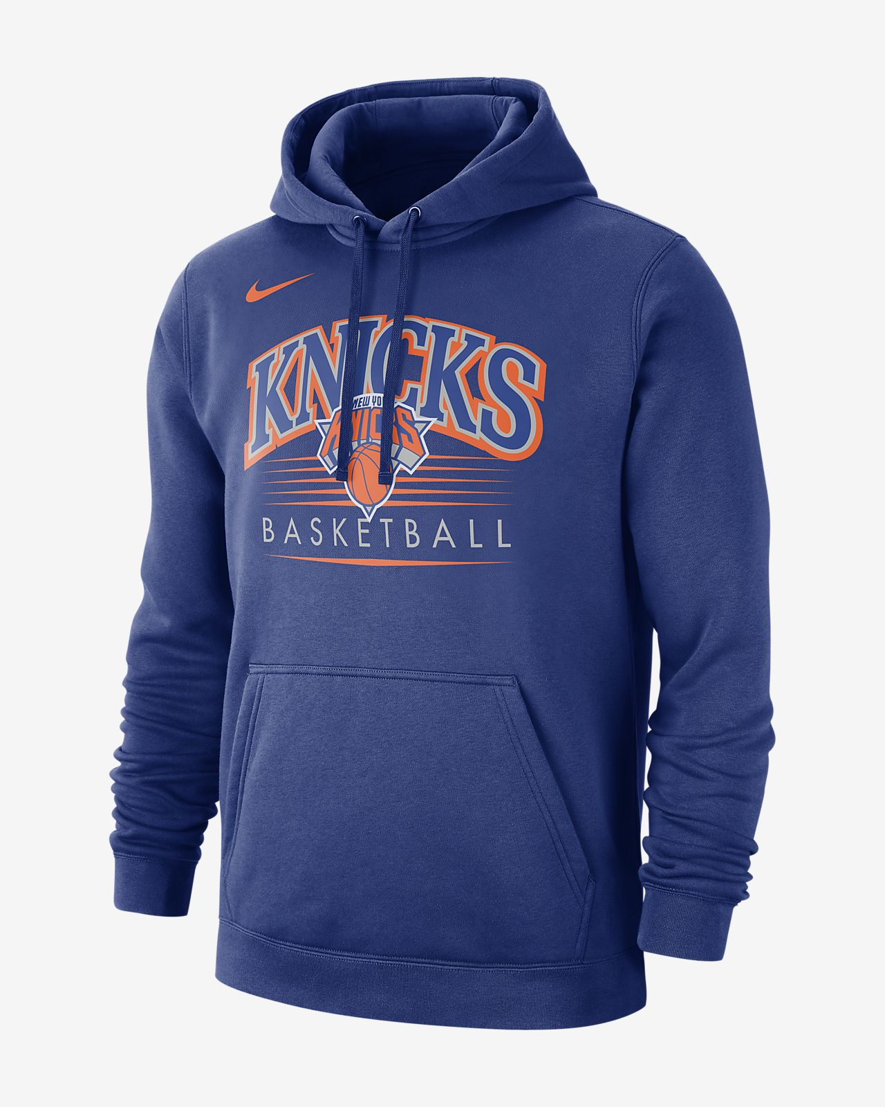 new style 1c253 cf9e3 New York Knicks Nike Men's NBA Hoodie