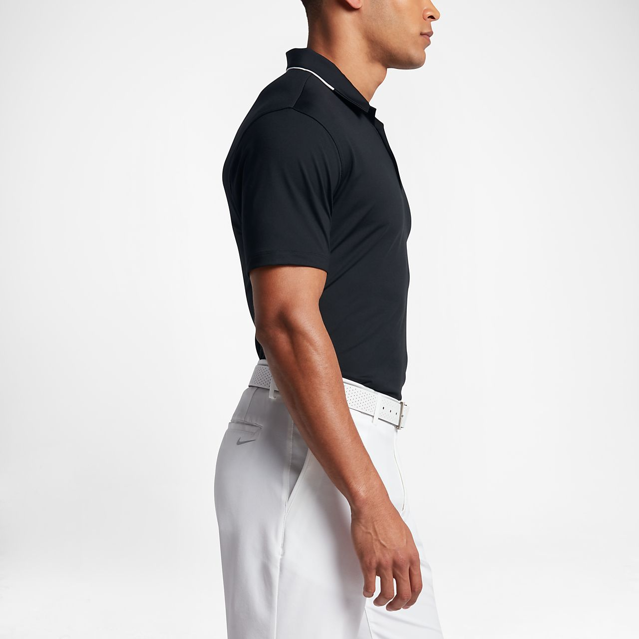 ... Nike Icon Elite Men\u0027s Standard Fit Golf Polo