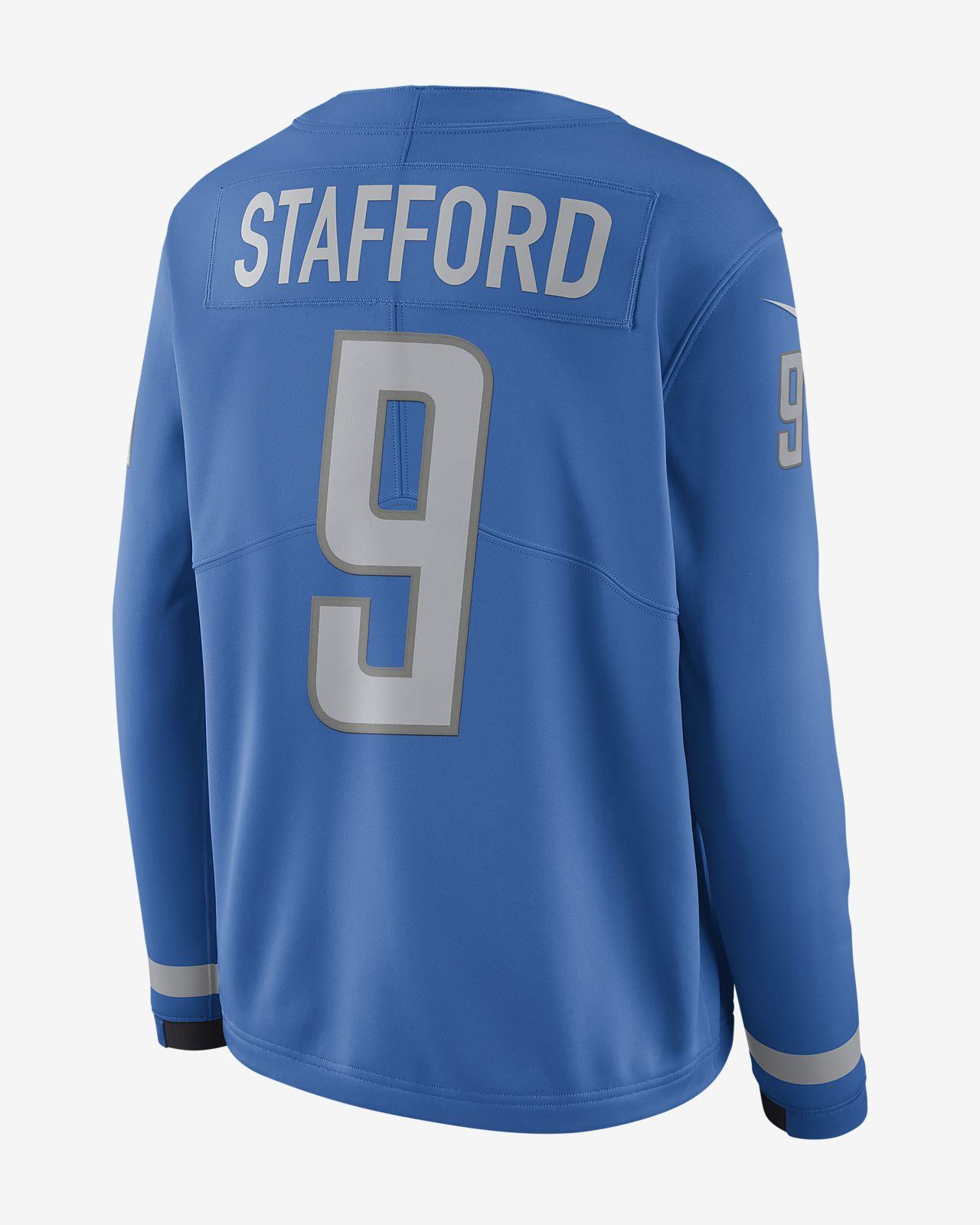 Top NFL Detroit Lions Jersey (Matthew Stafford) Women's Long Sleeve  hot sale