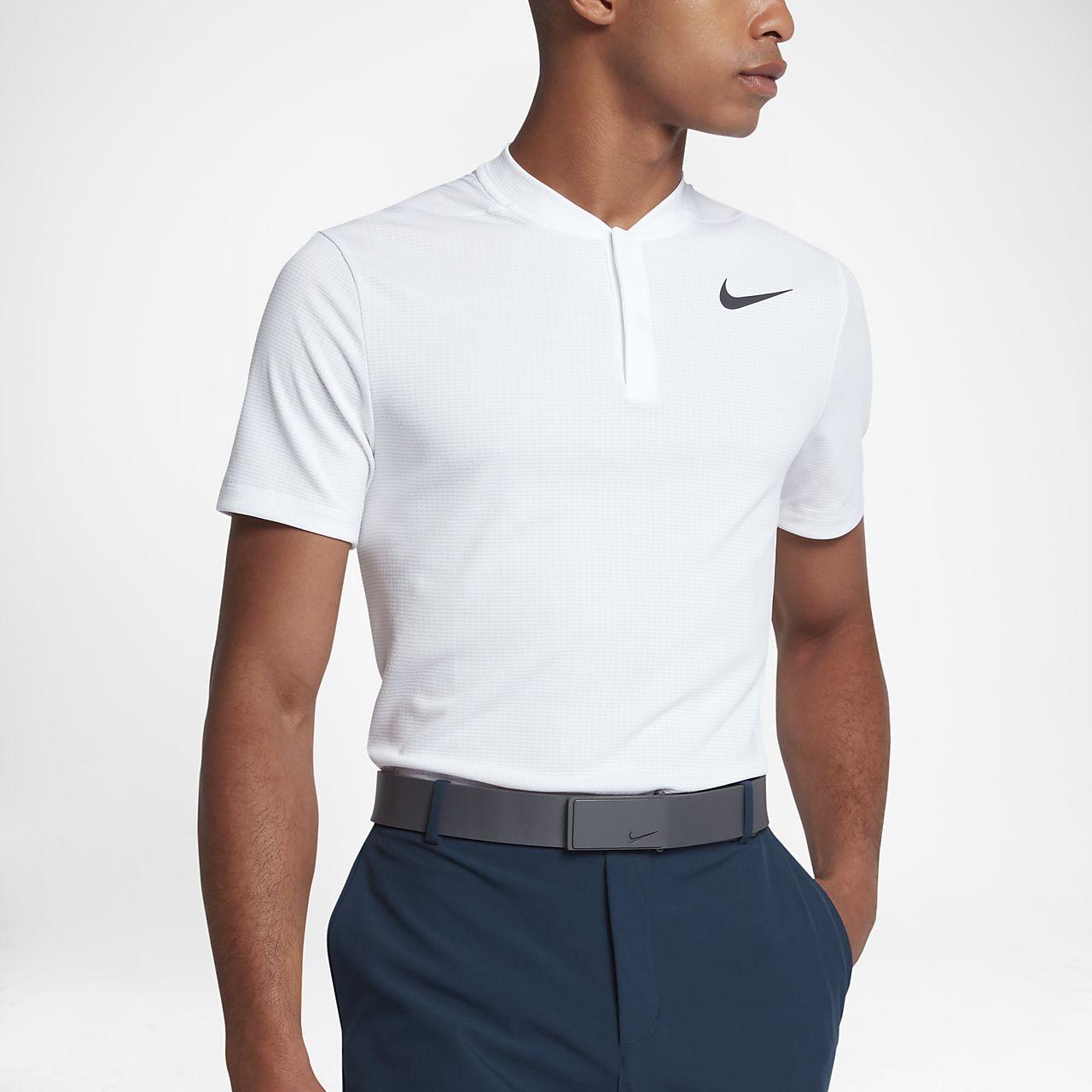 ed304d92 Nike Aeroreact Mens Slim Fit Golf Polo Shirt
