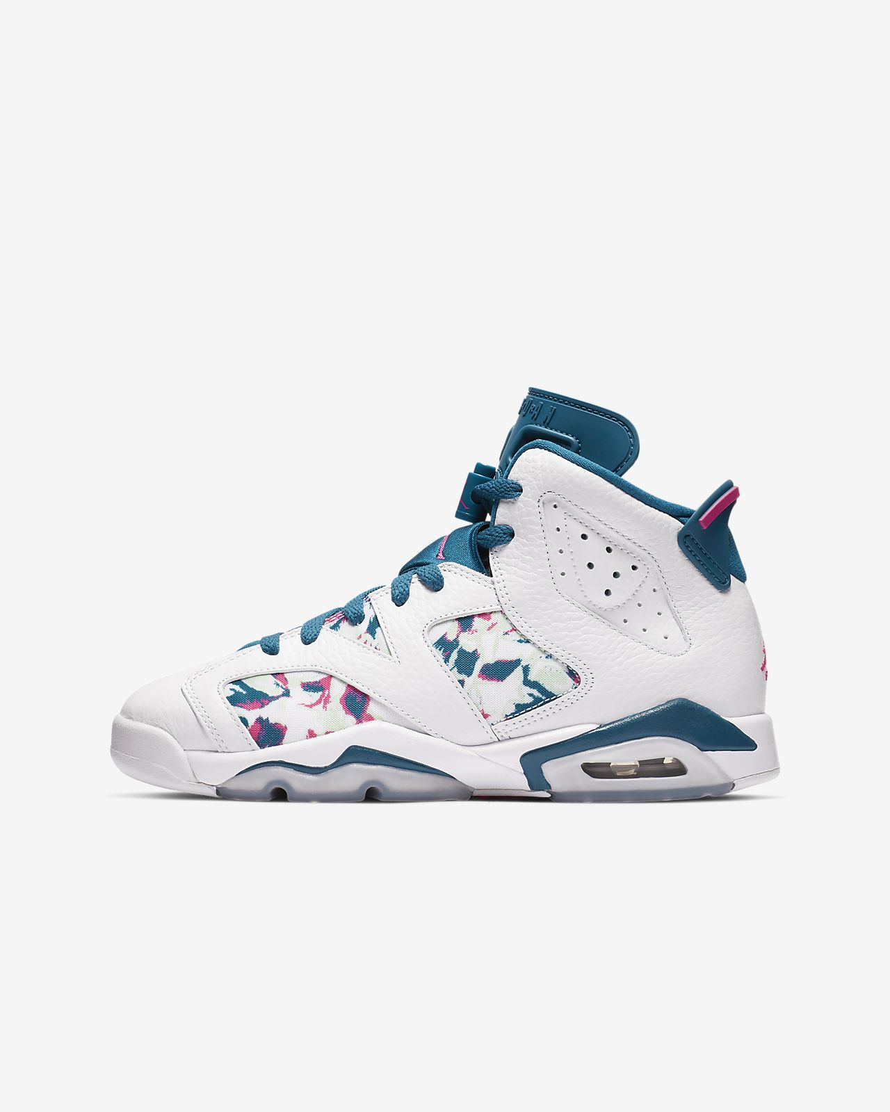 Air Jordan Retro 6 Big Kids  Shoe. Nike.com 60fccd67d5