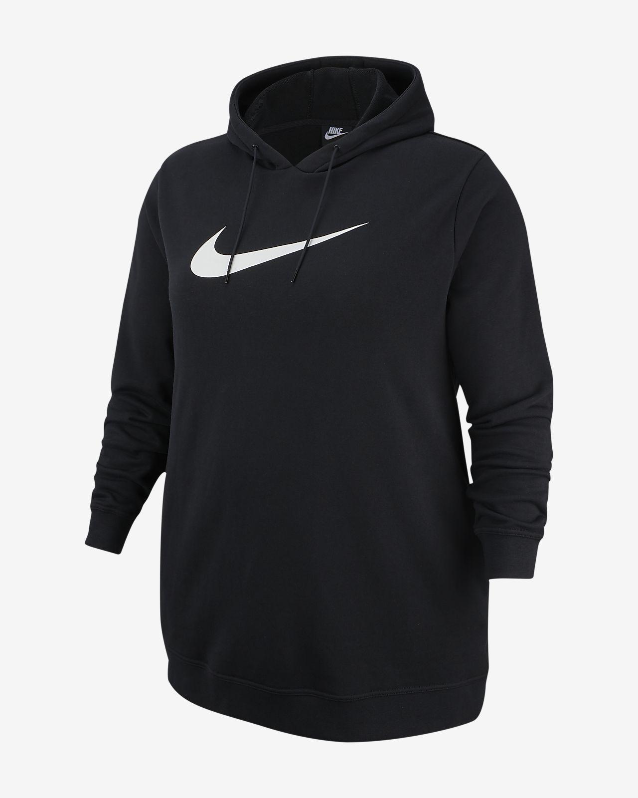 Vestido de felpa francesa para mujer (talla grande) Nike Sportswear Swoosh