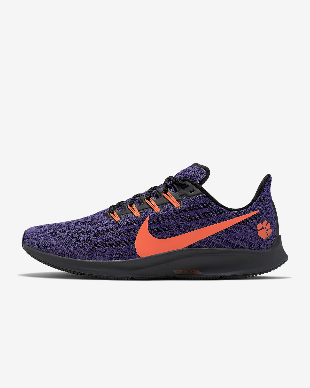 Nike Air Zoom Pegasus 36 (Clemson) Men's Running Shoe