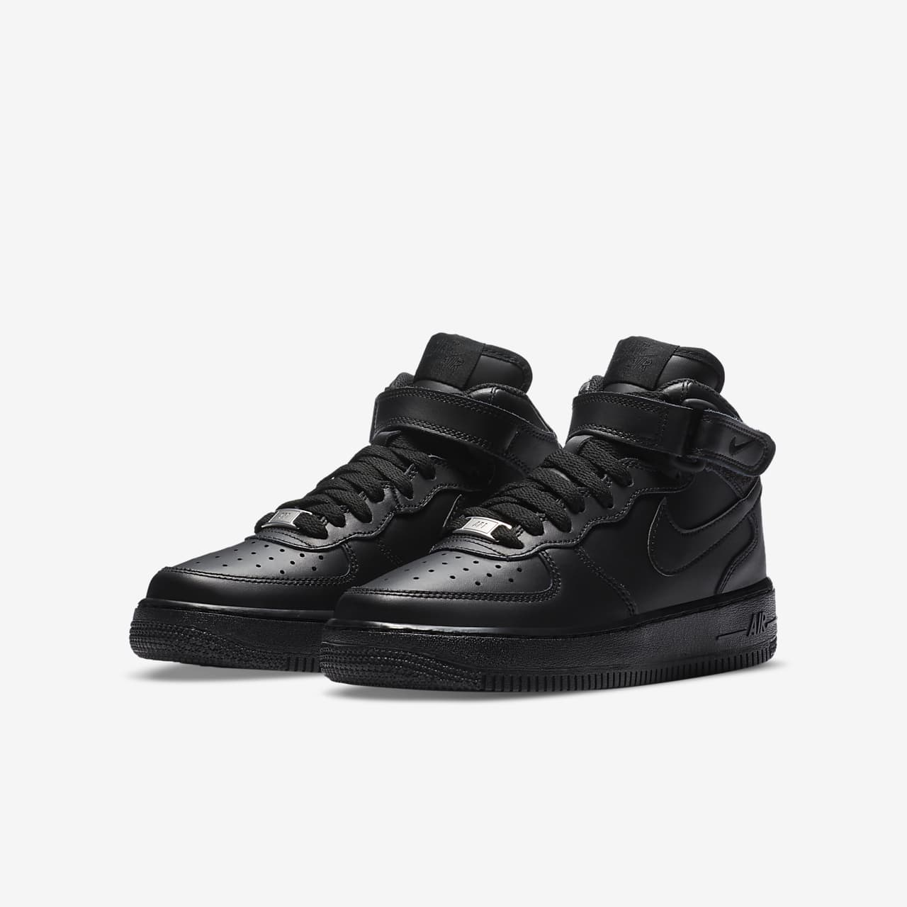 Nike Air Force 1 Mid'06 Jungenschuh - Weiß 5T68Uv
