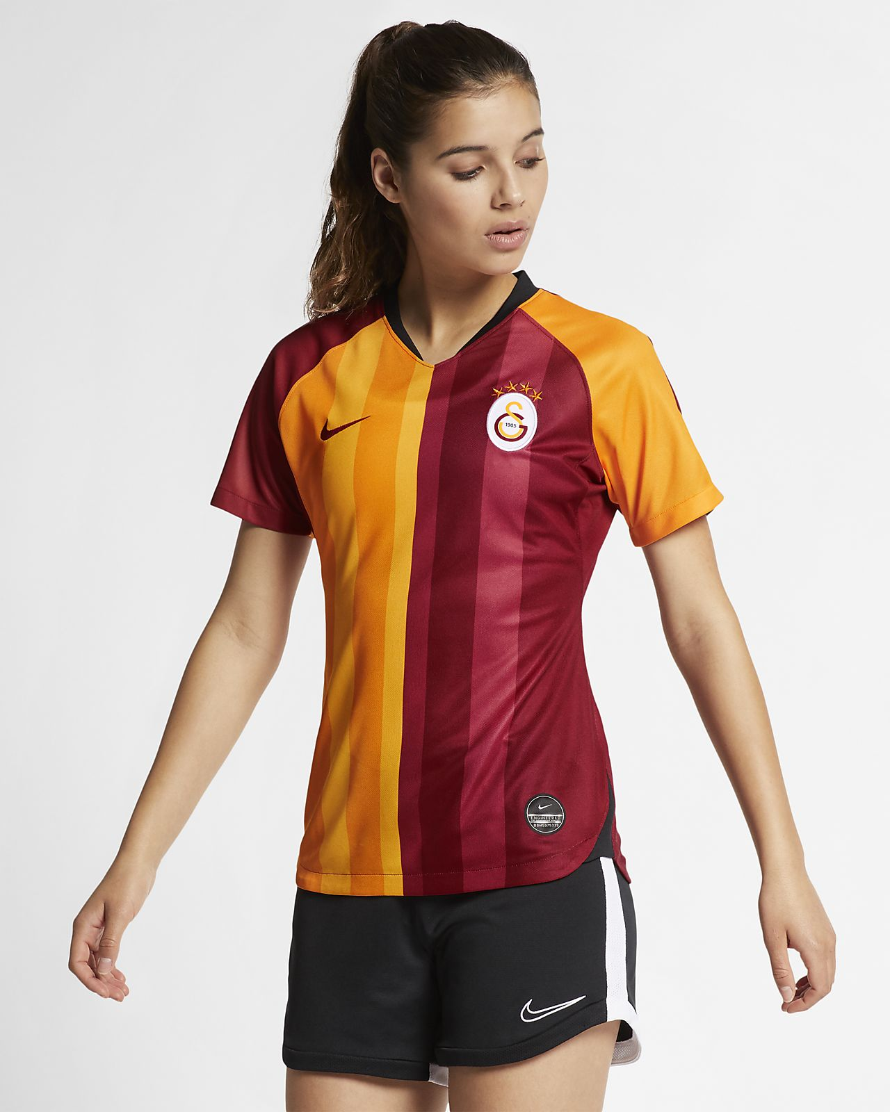 Damen Fußballtrikot Home 201920 Stadium Galatasaray 6Yv7yfgb