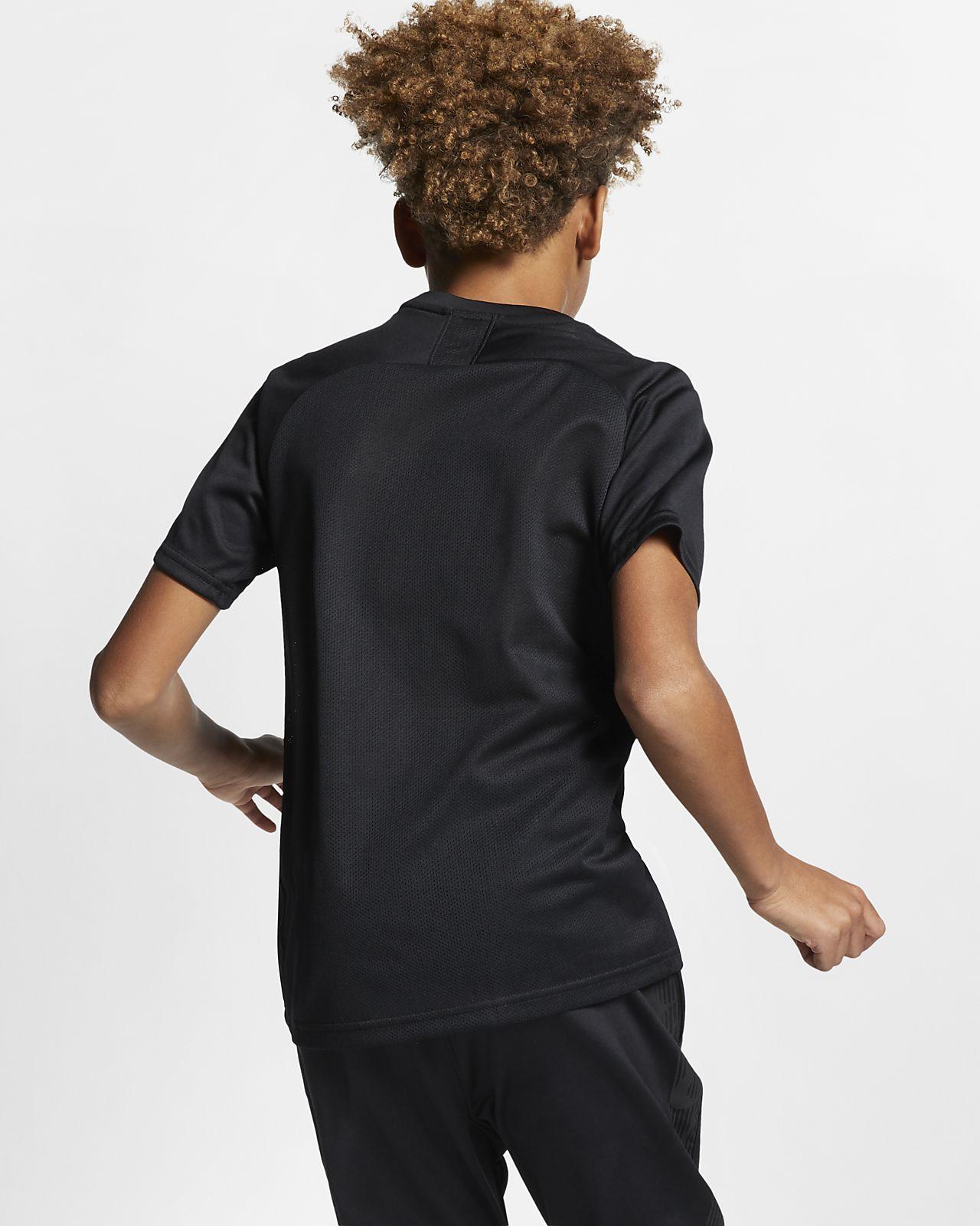 212579391 Nike Dri-FIT Academy Older Kids' Short-Sleeve Football Top. Nike.com GB