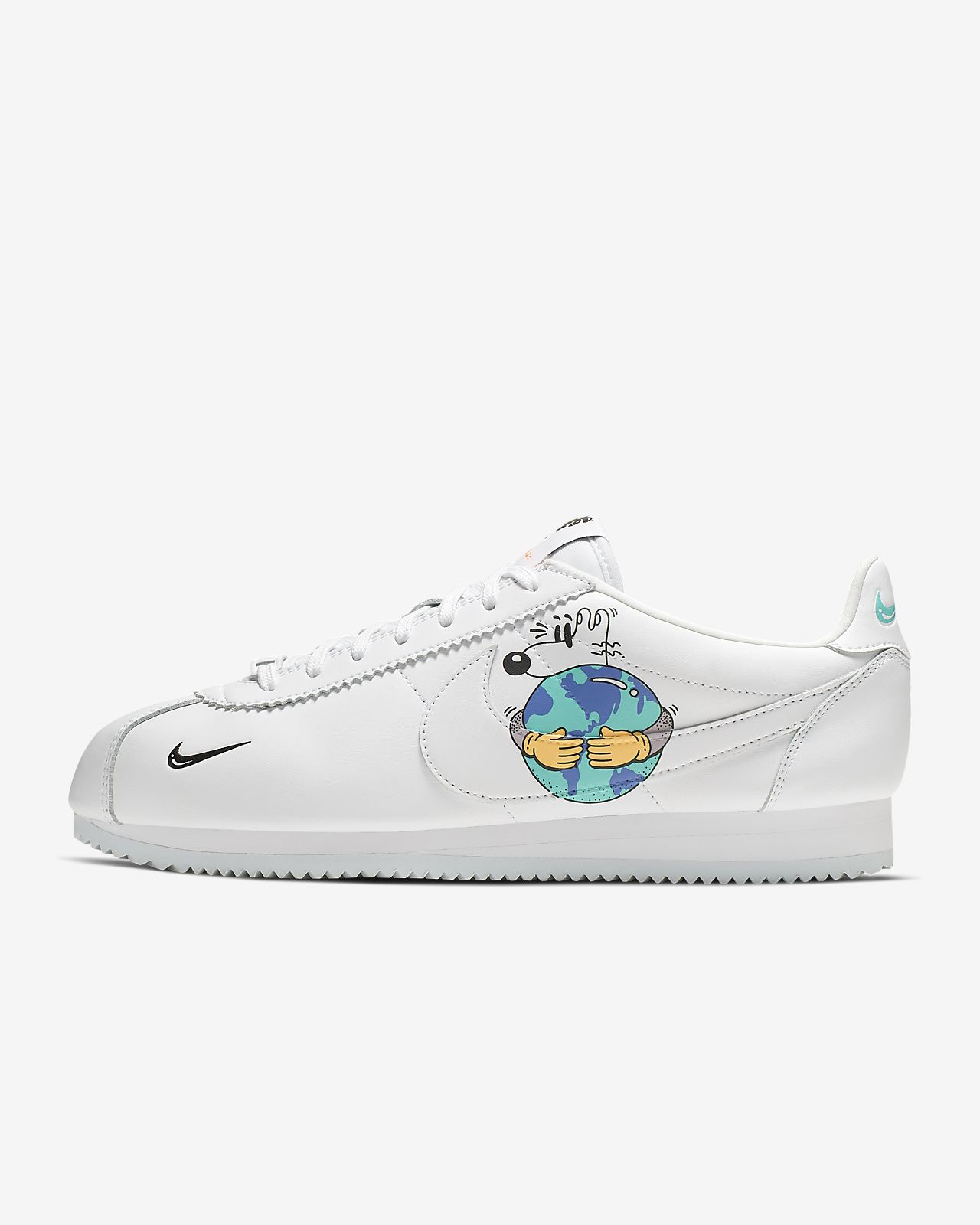 Nike Cortez QS FlyLeather with at least 50% leather fiber Herenschoen