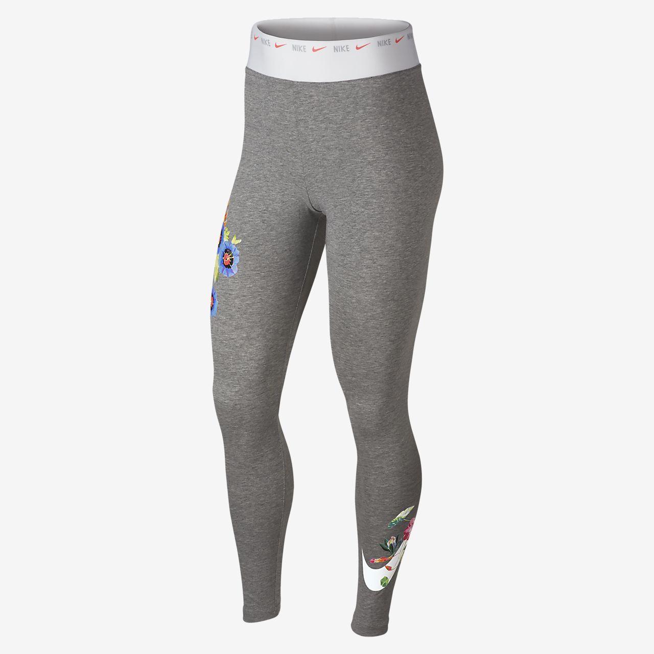 Nike Sportswear leggings med grafikk til dame