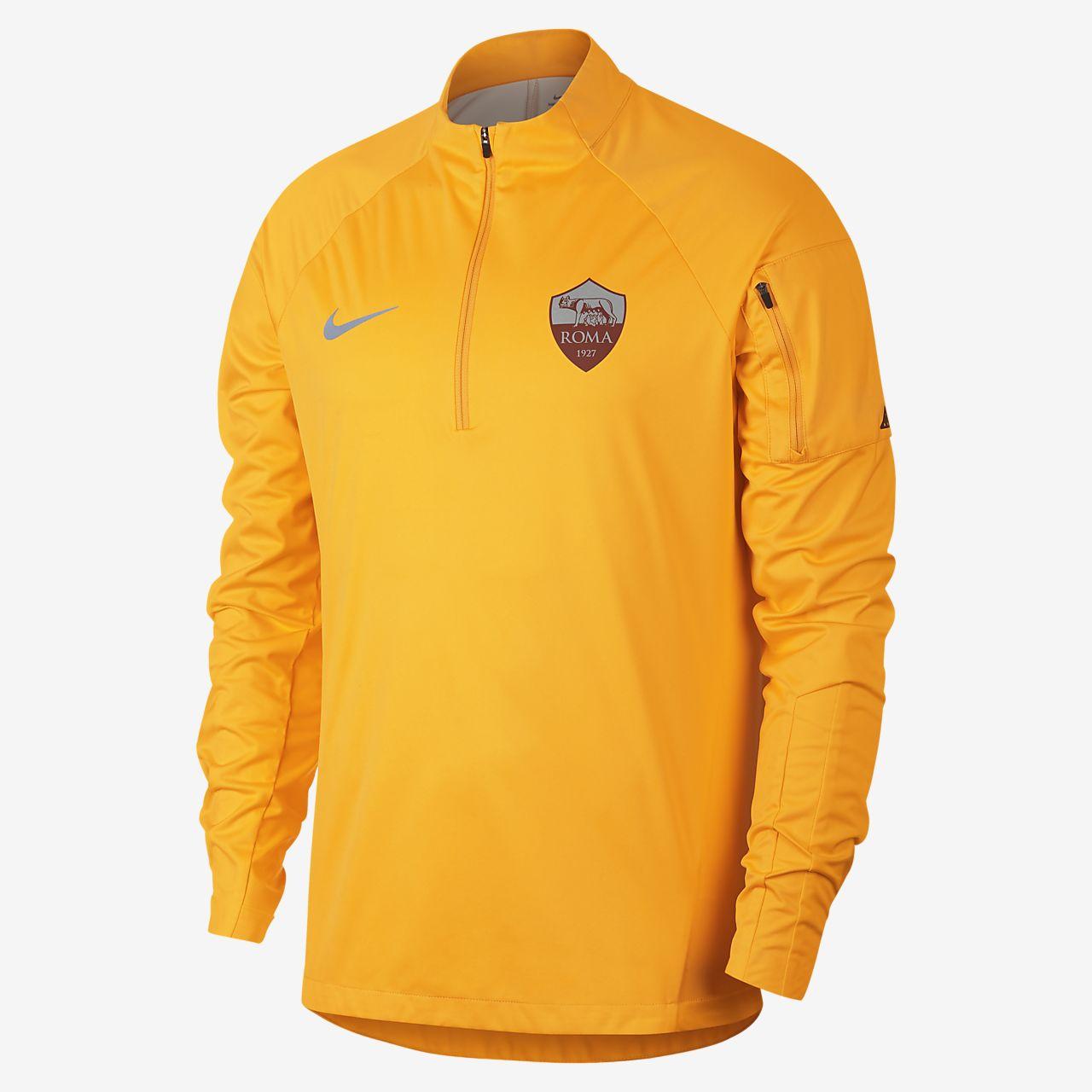 AS Roma Shield Squad Men's Football Drill Top