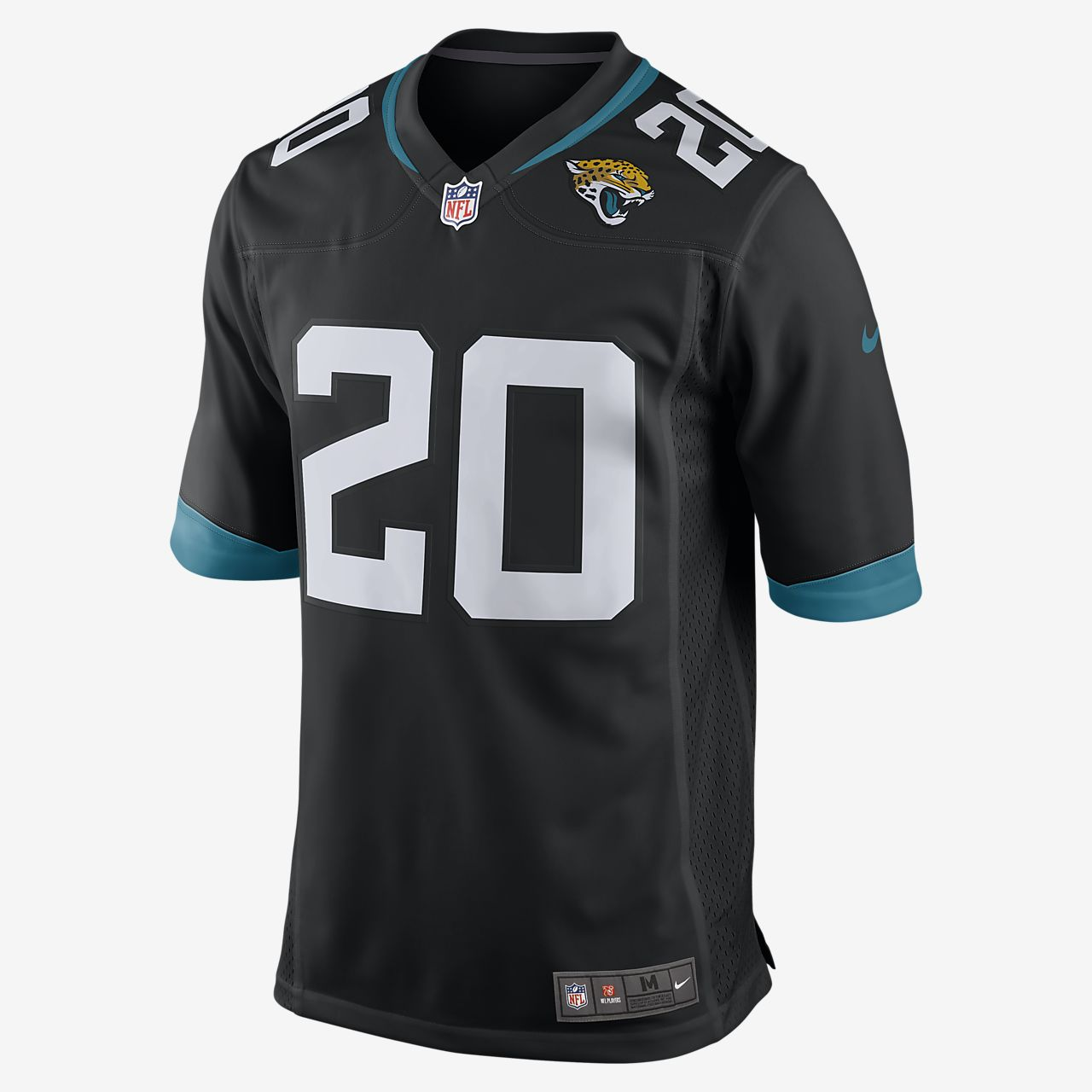 Мужское джерси для американского футбола NFL Jacksonville Jaguars Game (Jalen Ramsey)