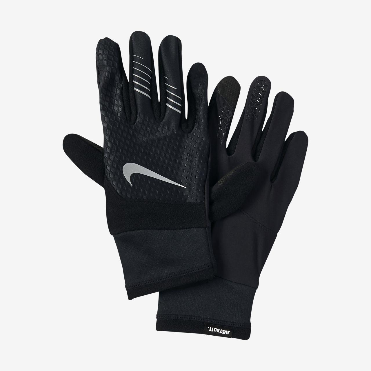 guantes running nike