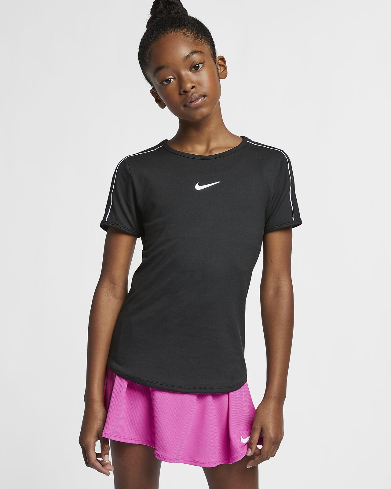 NikeCourt Dri-FIT Samarreta de tennis - Nena