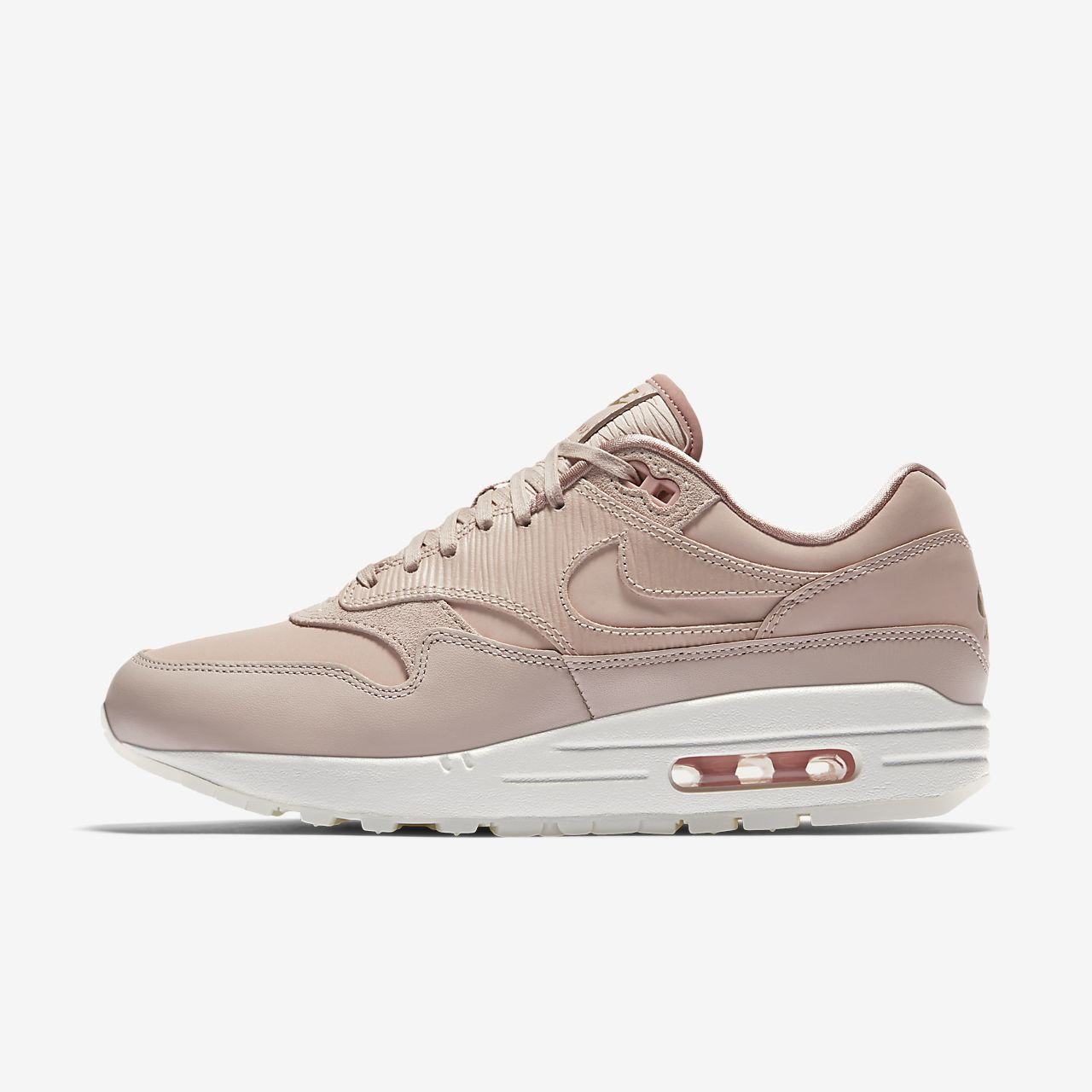 nike air max 1 premium womens white converse