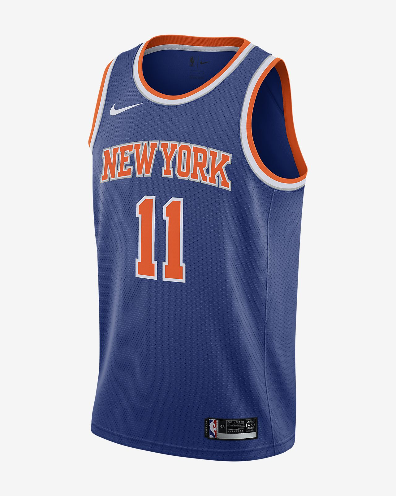 Frank Ntilikina Knicks Icon Edition Nike NBA Swingman drakt