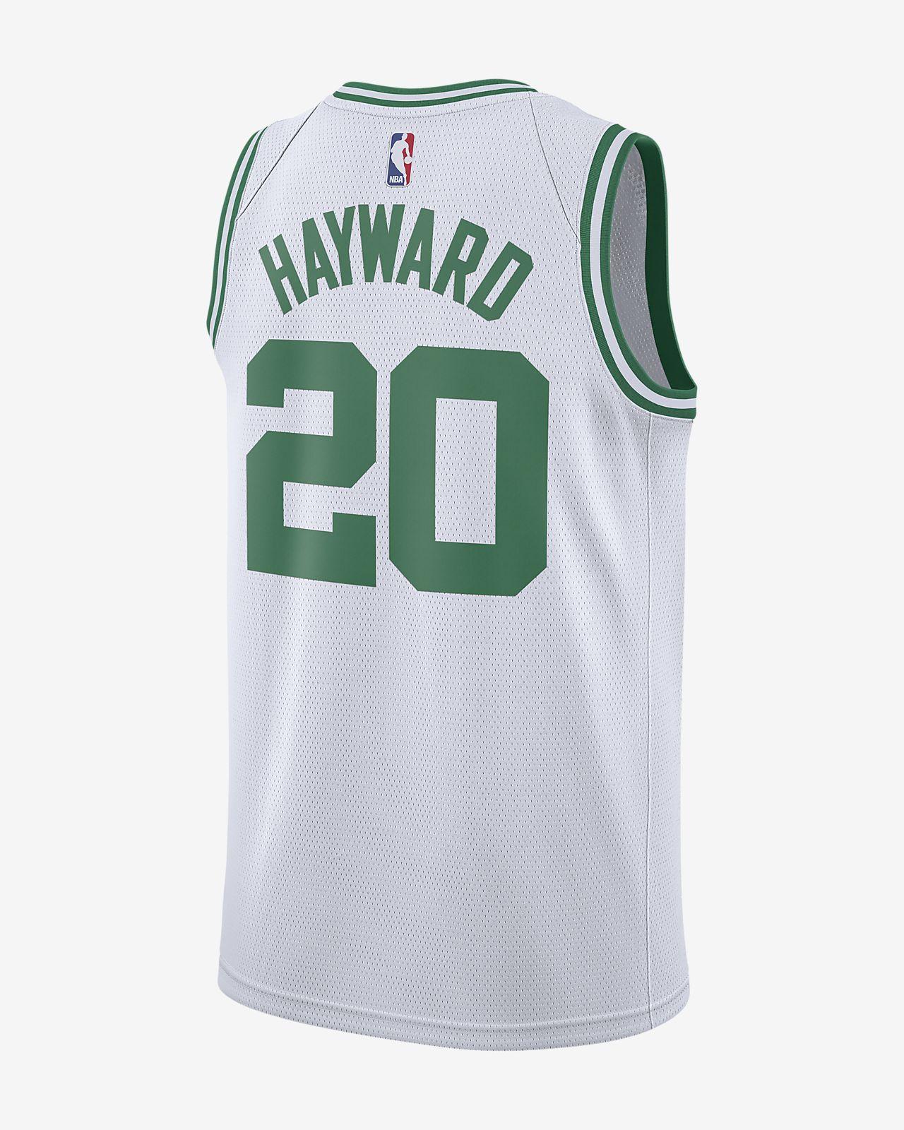 uk availability 093a1 7611a Gordon Hayward Association Edition Swingman (Boston Celtics) Men's Nike NBA  Connected Jersey