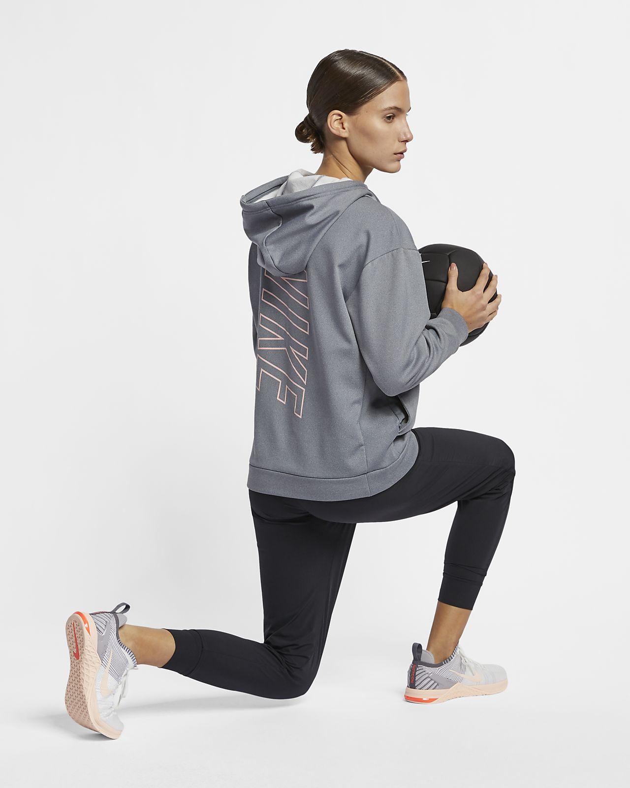 Nike Therma Women s Swoosh Fleece Training Hoodie. Nike.com 375cc567a