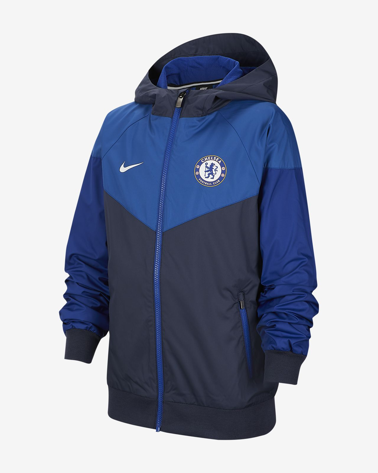 Chelsea FC Windrunner Big Kids' Jacket