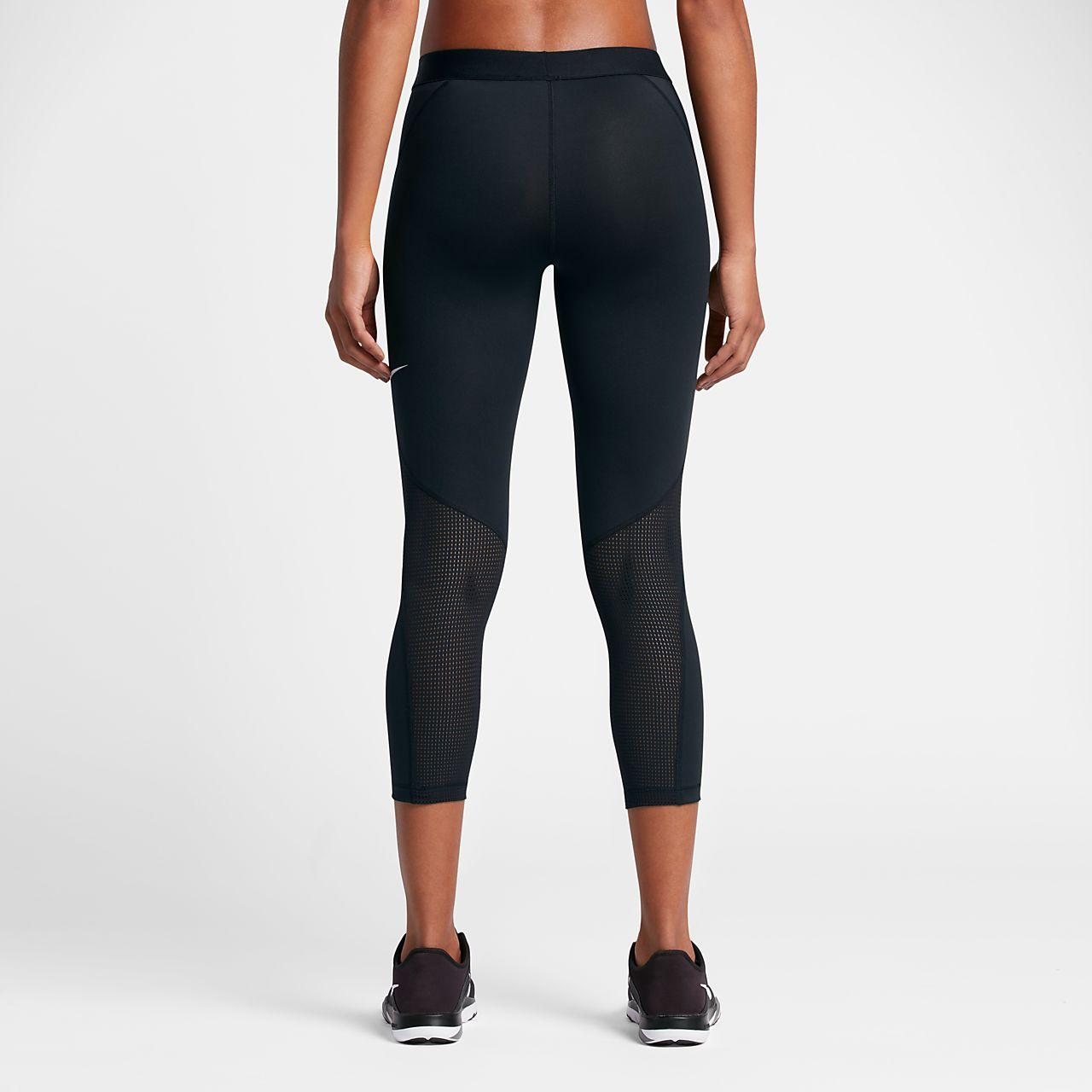 Nike Pro Logo Women's Training Capris Black
