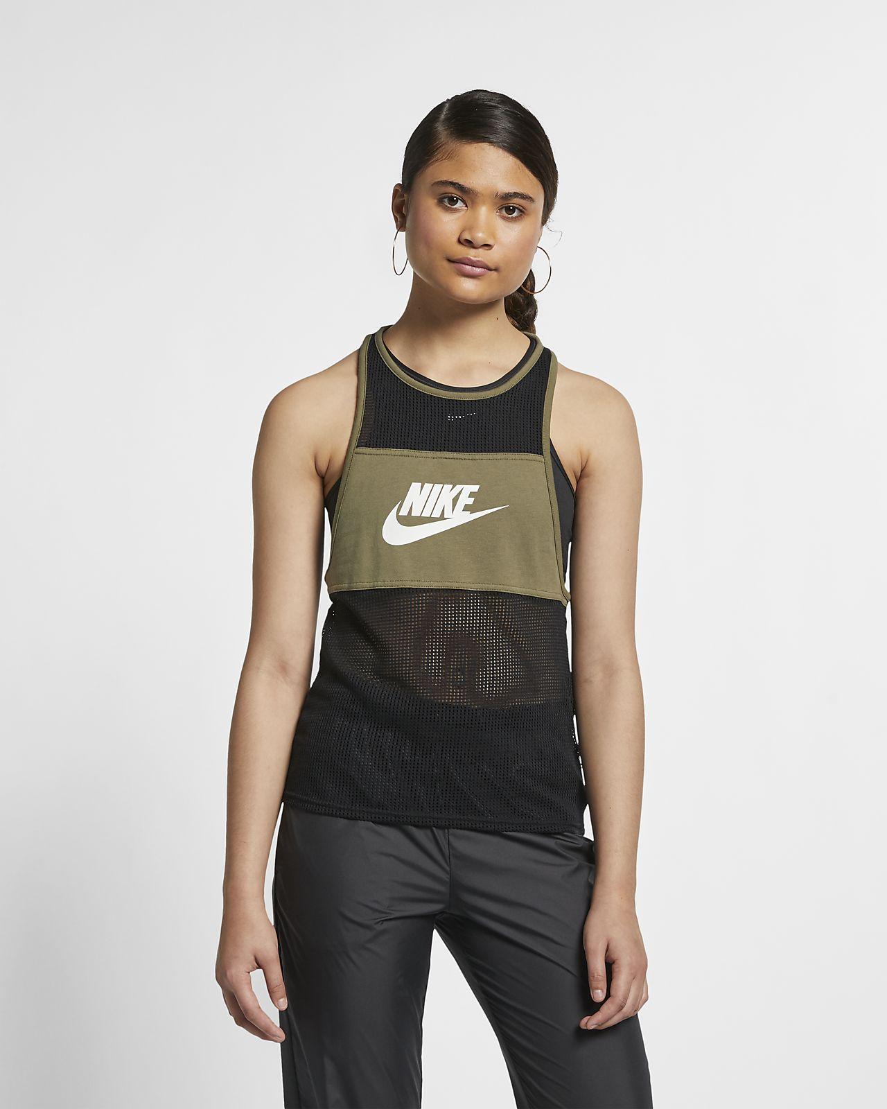 check out 5e3c0 064c9 ... Débardeur en mesh Nike Sportswear pour Femme