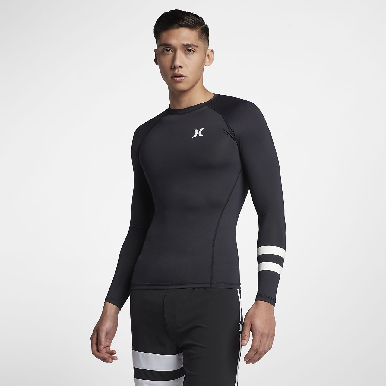 Męska koszulka surfingowa z długim rękawem Hurley Pro Light