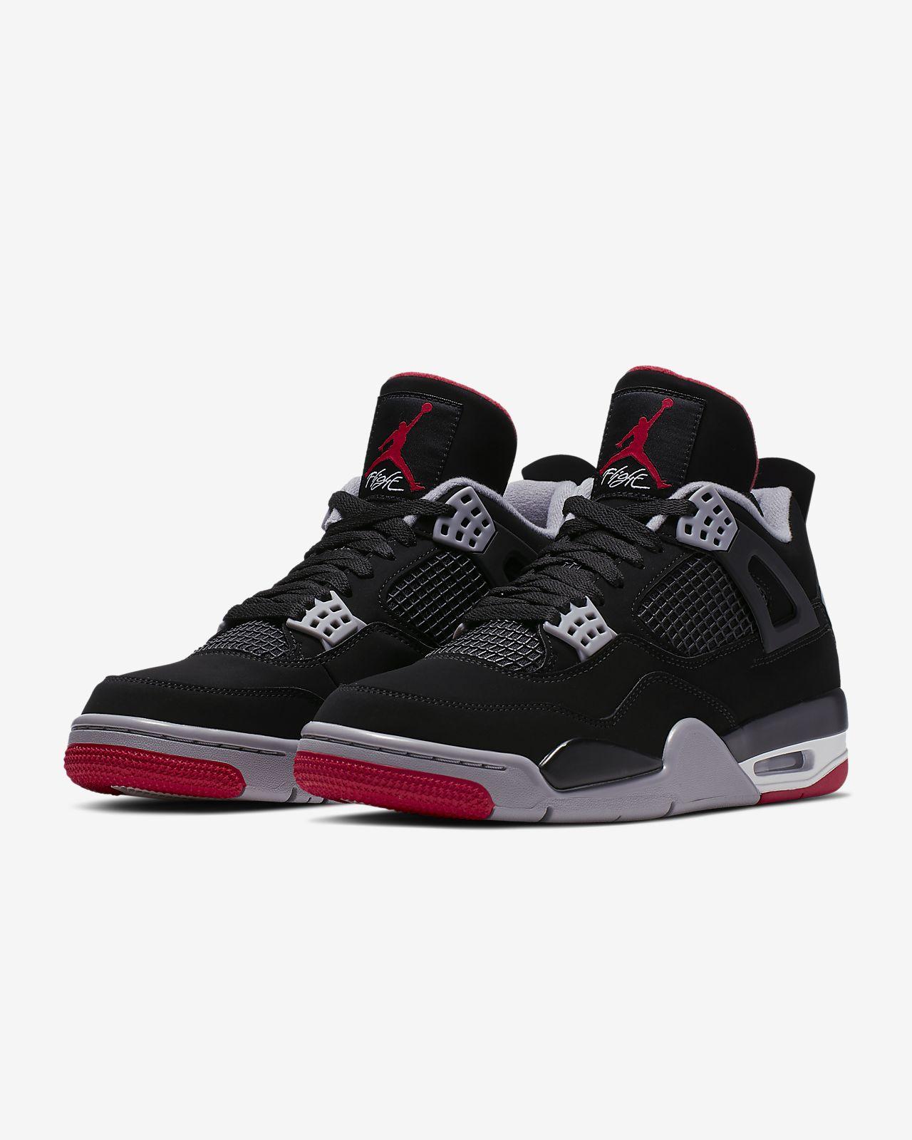 f2fa0fb568ffe3 Air Jordan 4 Retro Men s Shoe. Nike.com GB
