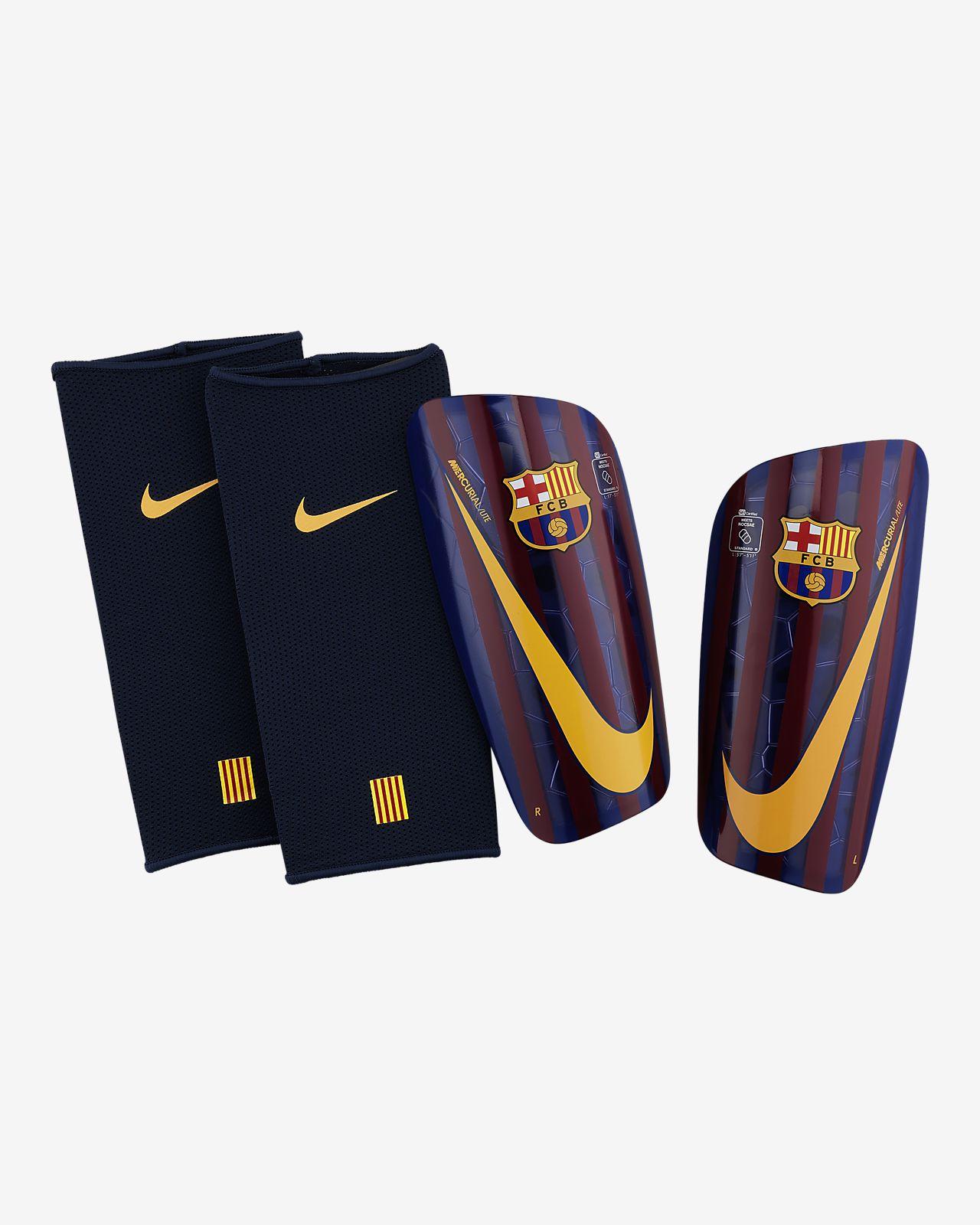 Protección para pierna FC Barcelona Mercurial Lite