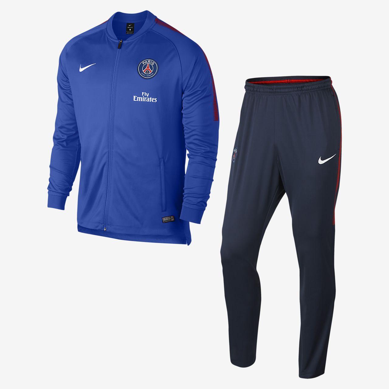 ... Paris Saint-Germain Dri-FIT Squad Men's Football Track Suit