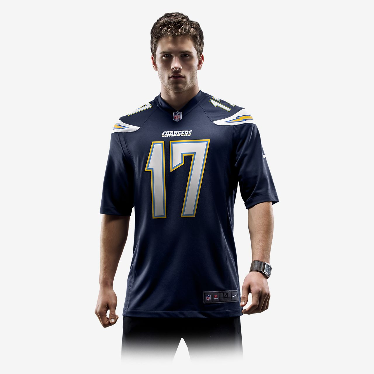 5bc74fdd NFL Los Angeles Chargers (Philip Rivers) Men's Football Home Game Jersey