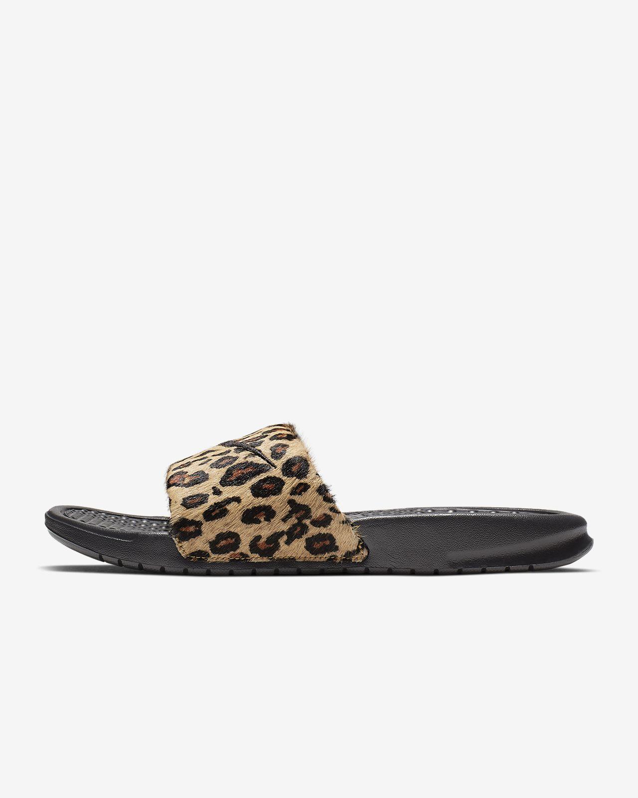 hot sale online b660b a9b3a ... Nike Benassi JDI SE Animal Women s JDI Slide