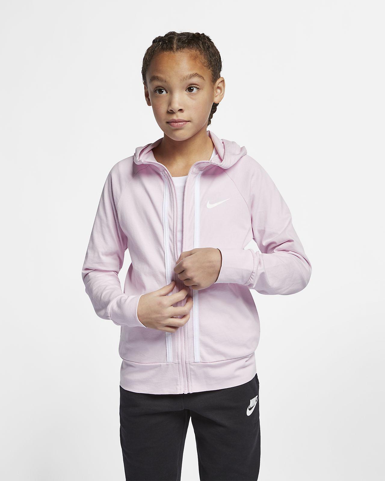 afcfdfd50251 Sweat à capuche entièrement zippé Nike Sportswear pour Fille plus âgée