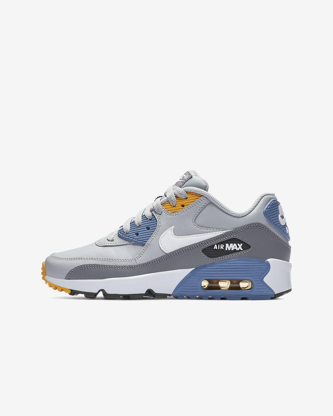 finest selection 4e15e 3864b Nike Air Max 90 Leather Schuh für ältere Kinder