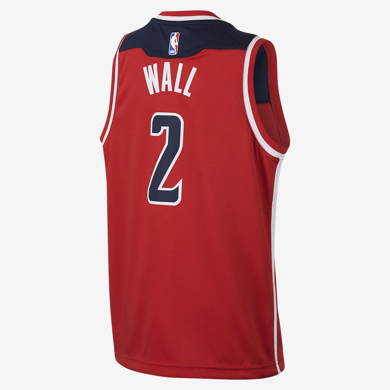 da4fcf4a4b5 ... John Wall Washington Wizards Nike Icon Edition Swingman Big Kids  NBA  Jersey